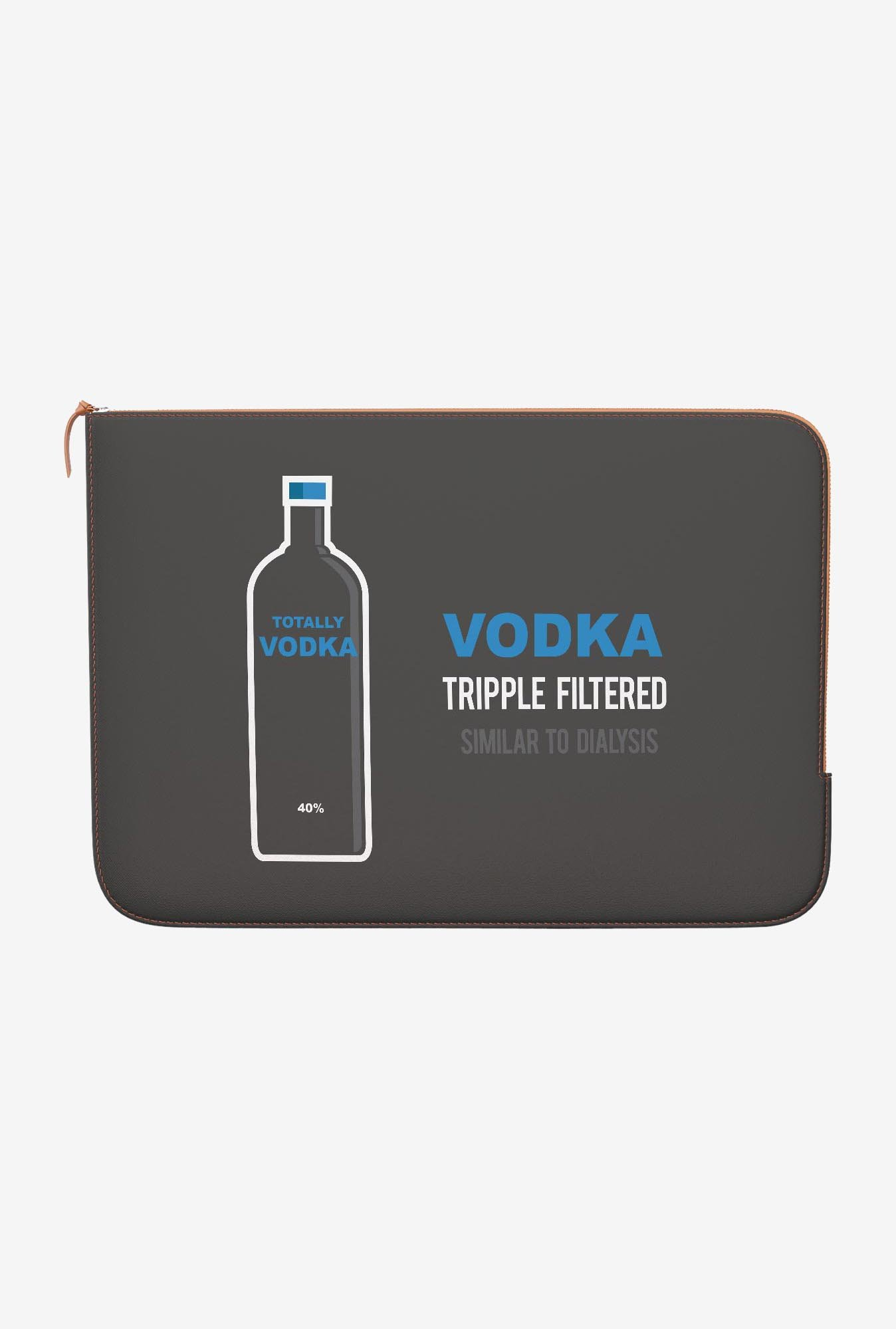 DailyObjects Vodka Bottle MacBook Pro 15 Zippered Sleeve