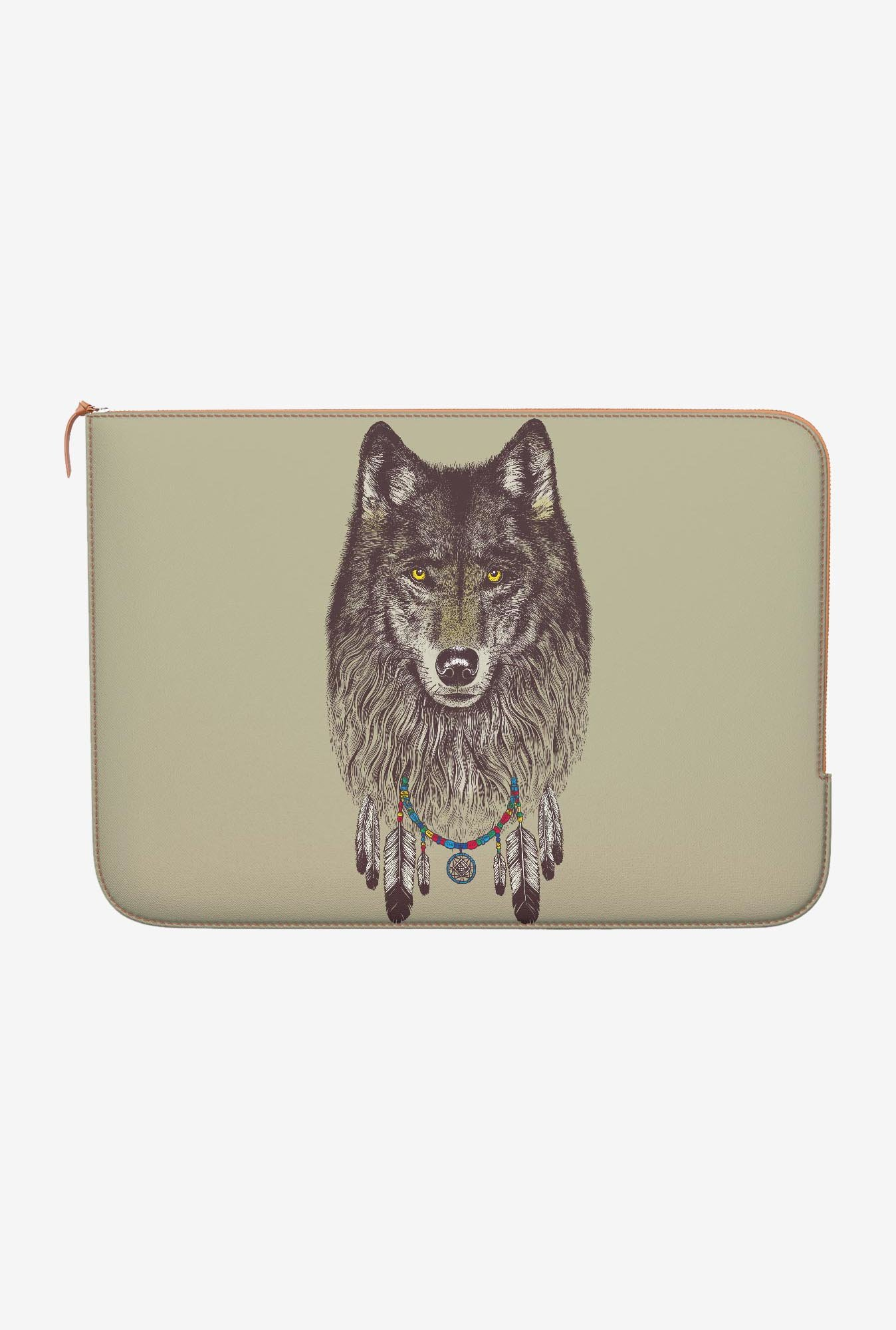 DailyObjects Wolf MacBook Air 11 Zippered Sleeve