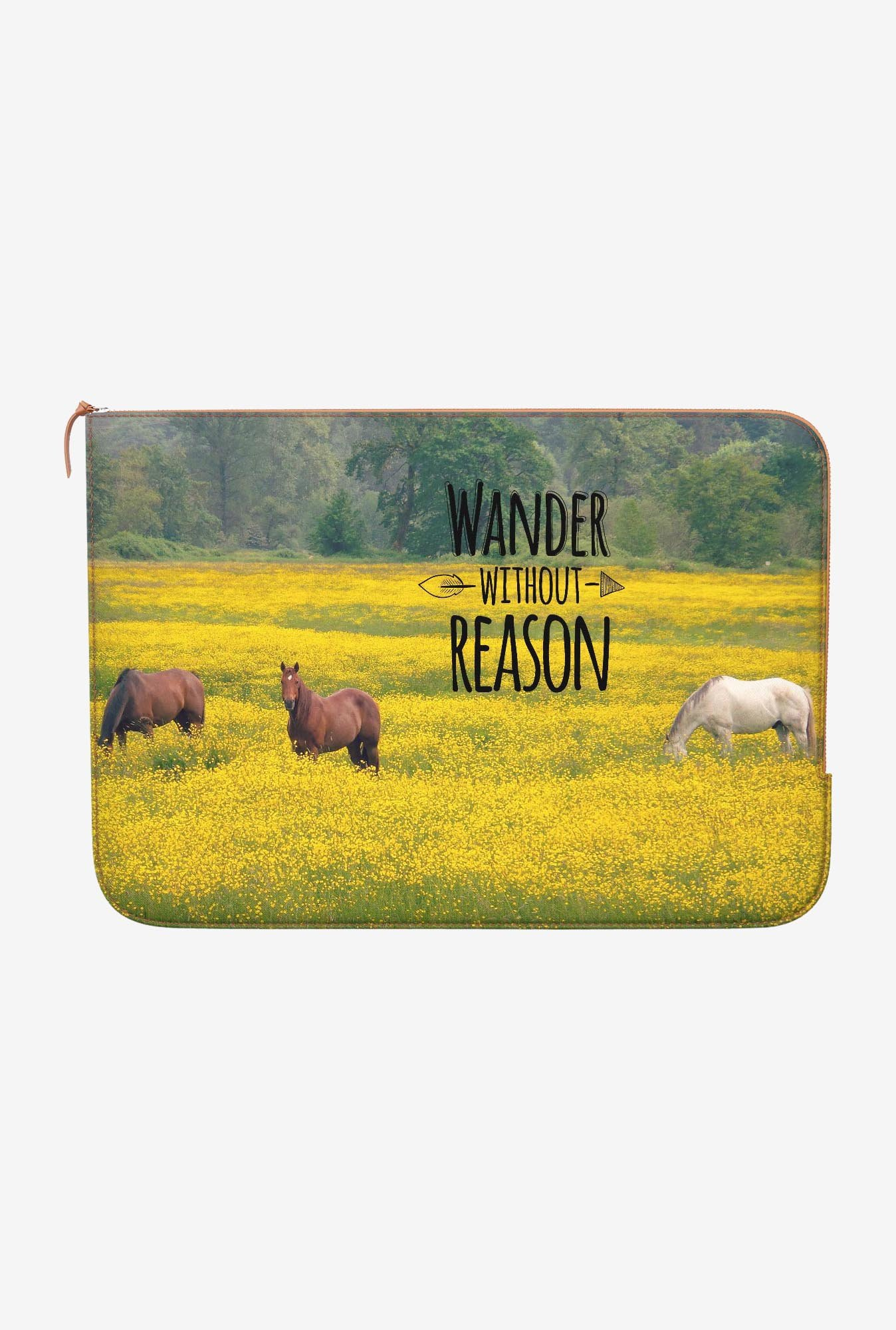 DailyObjects Wander MacBook Pro 15 Zippered Sleeve