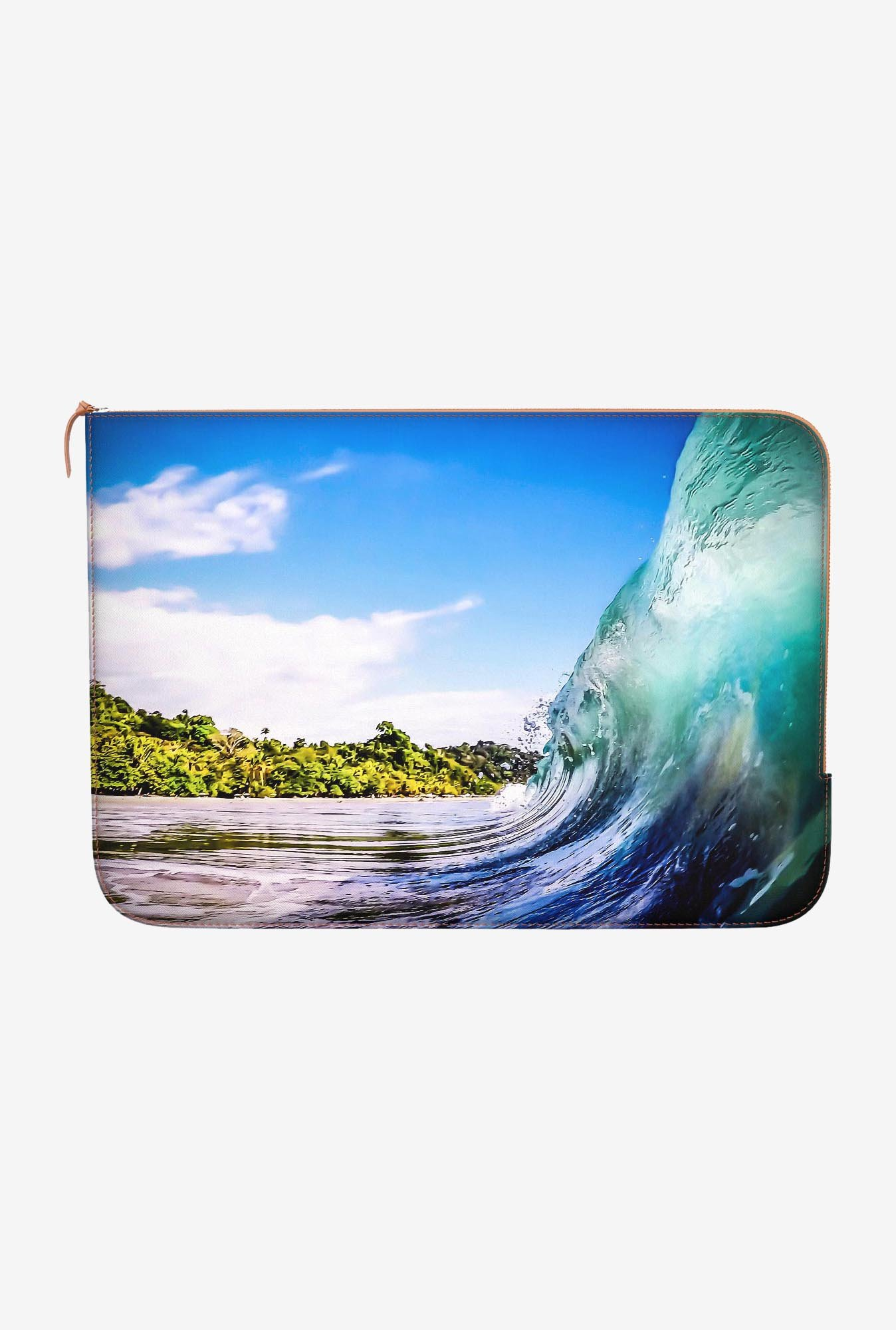 DailyObjects Wave Wall MacBook Pro 15 Zippered Sleeve