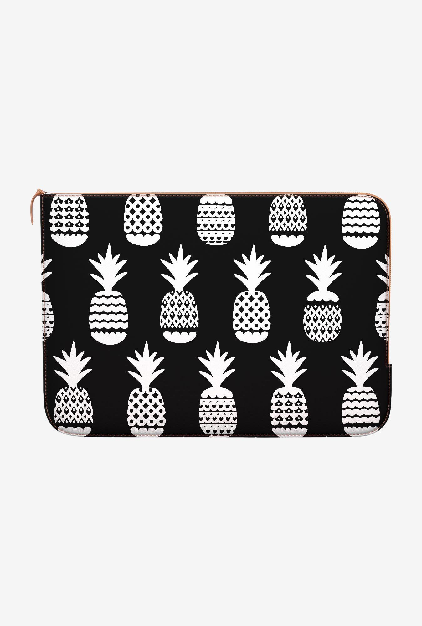 DailyObjects White Pineapple MacBook Pro 15 Zippered Sleeve
