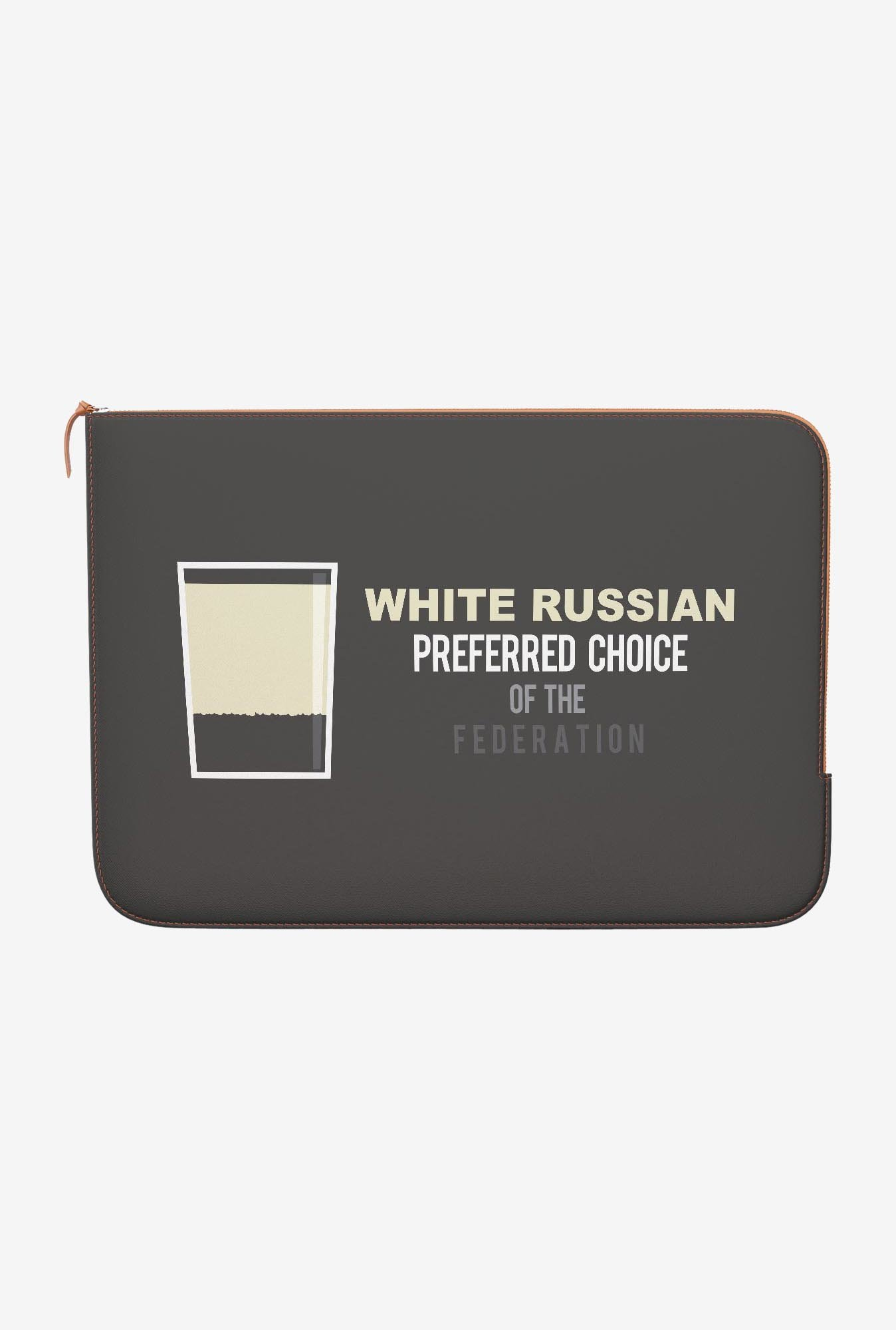 DailyObjects White Russian MacBook 12 Zippered Sleeve