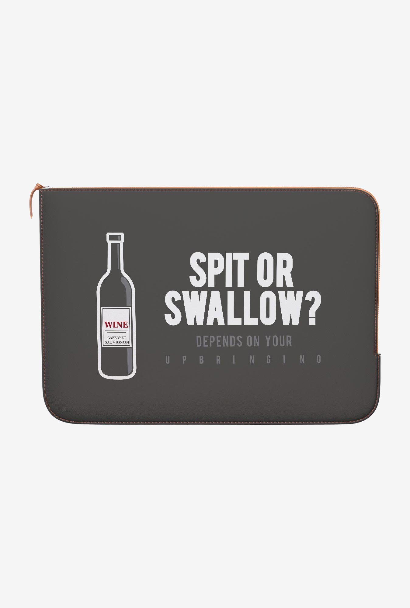DailyObjects Wine MacBook 12 Zippered Sleeve