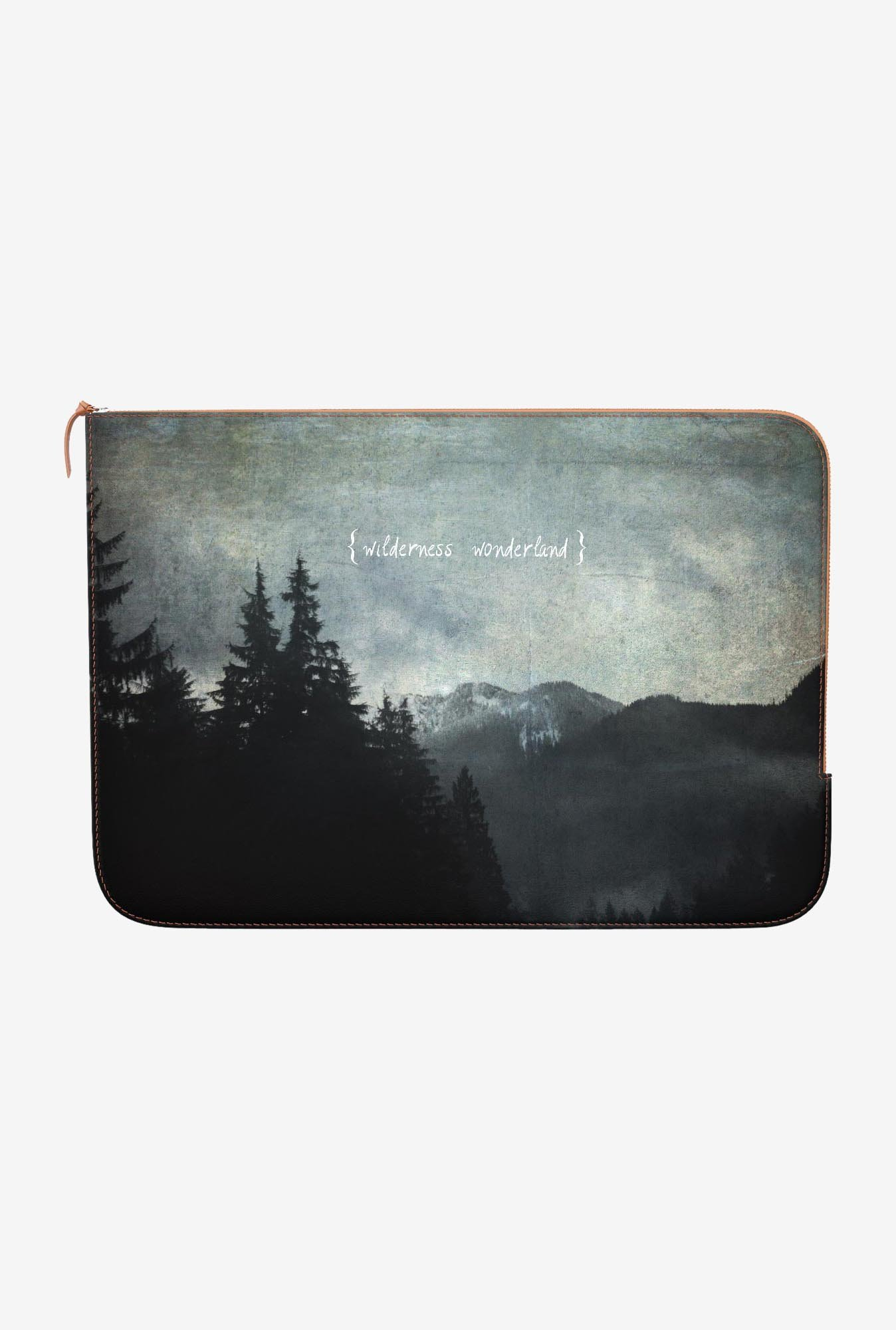DailyObjects Wonderland MacBook Pro 15 Zippered Sleeve