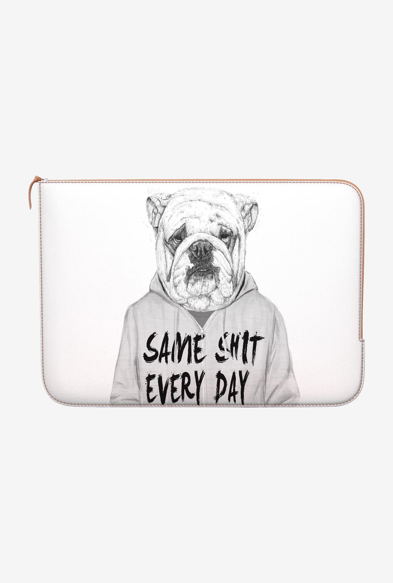 DailyObjects Shit Every Day MacBook Air 13 Zippered Sleeve