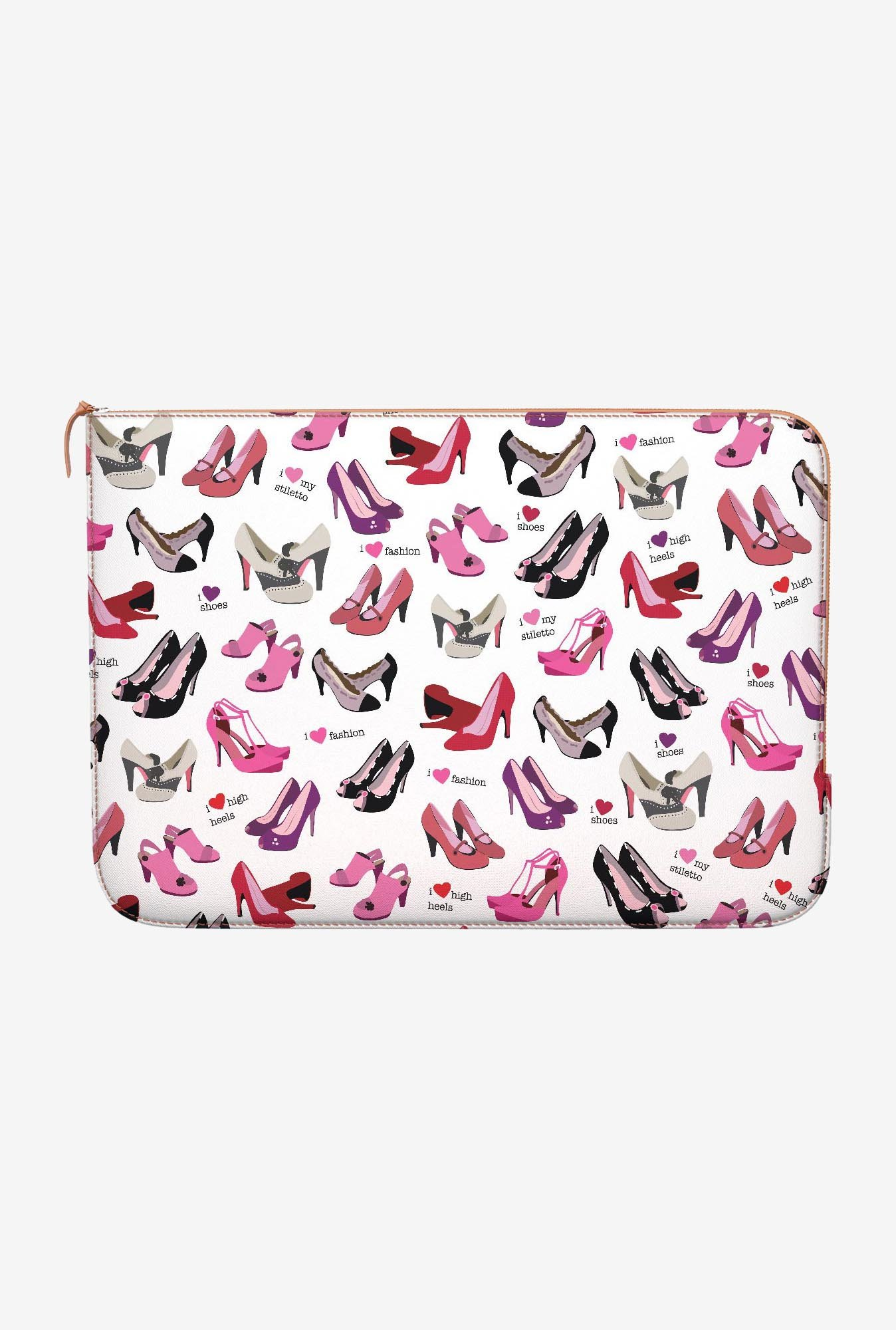 DailyObjects Shoes MacBook Pro 15 Zippered Sleeve