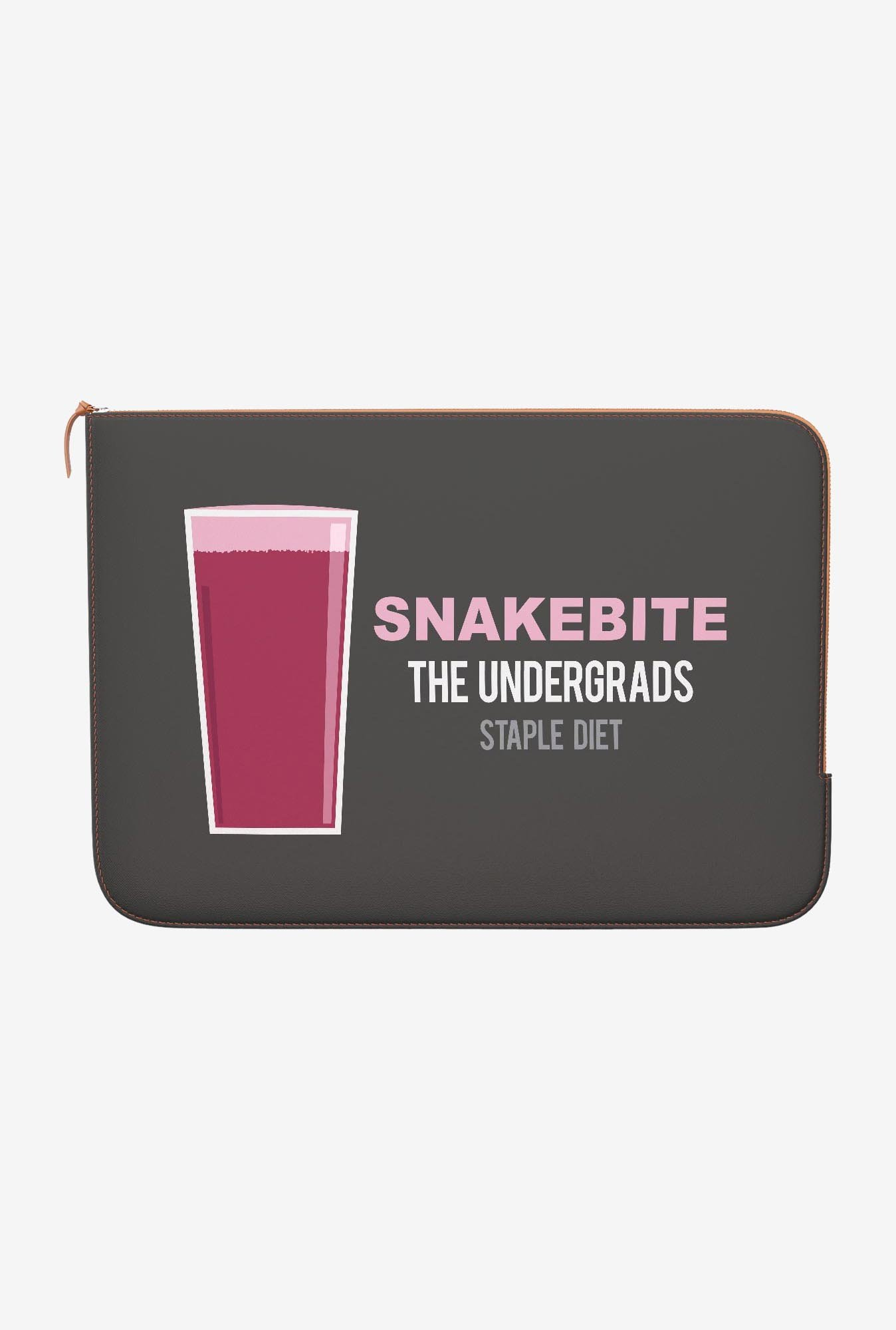 DailyObjects Snakebite MacBook 12 Zippered Sleeve
