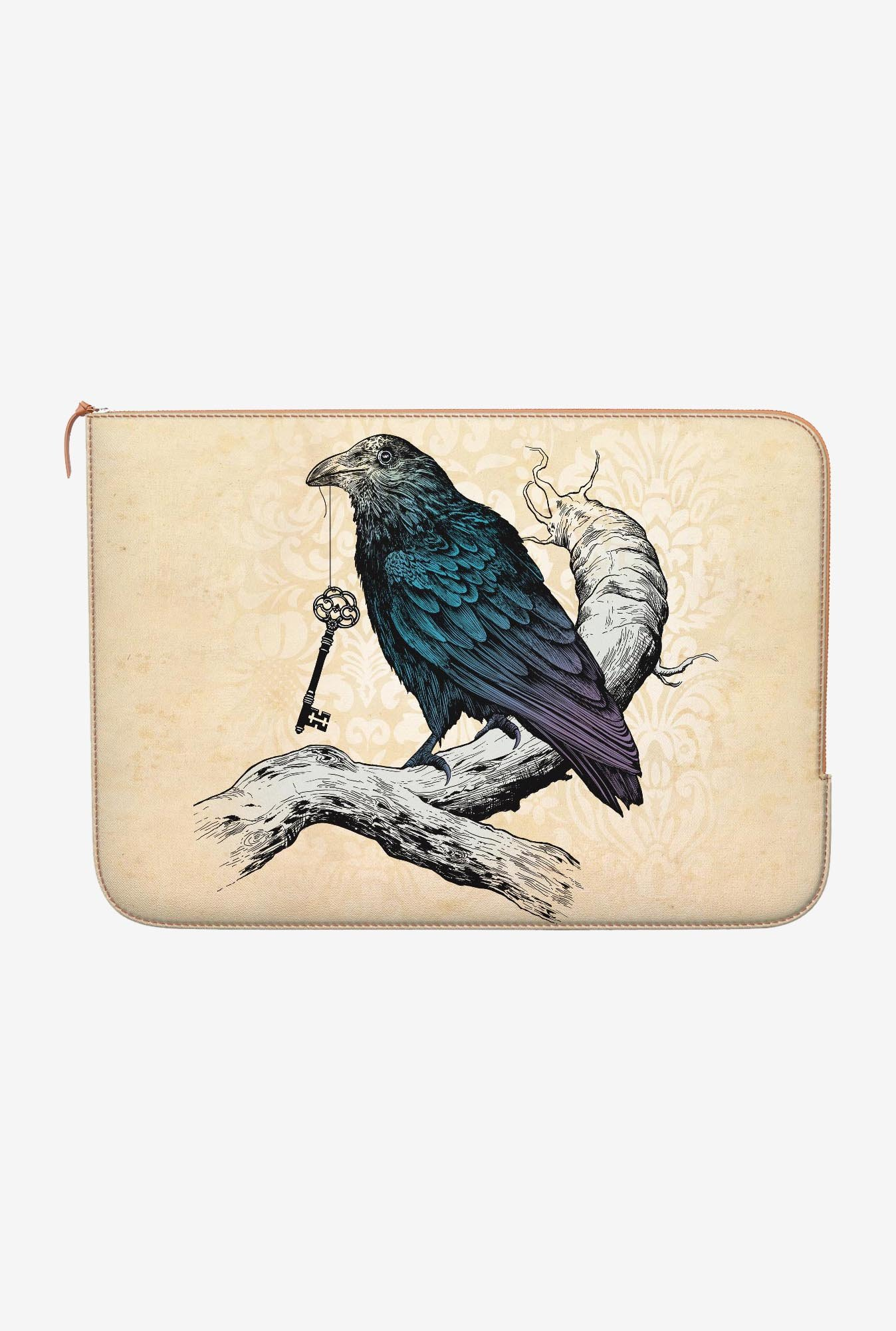 DailyObjects Ravens Key MacBook Pro 15 Zippered Sleeve
