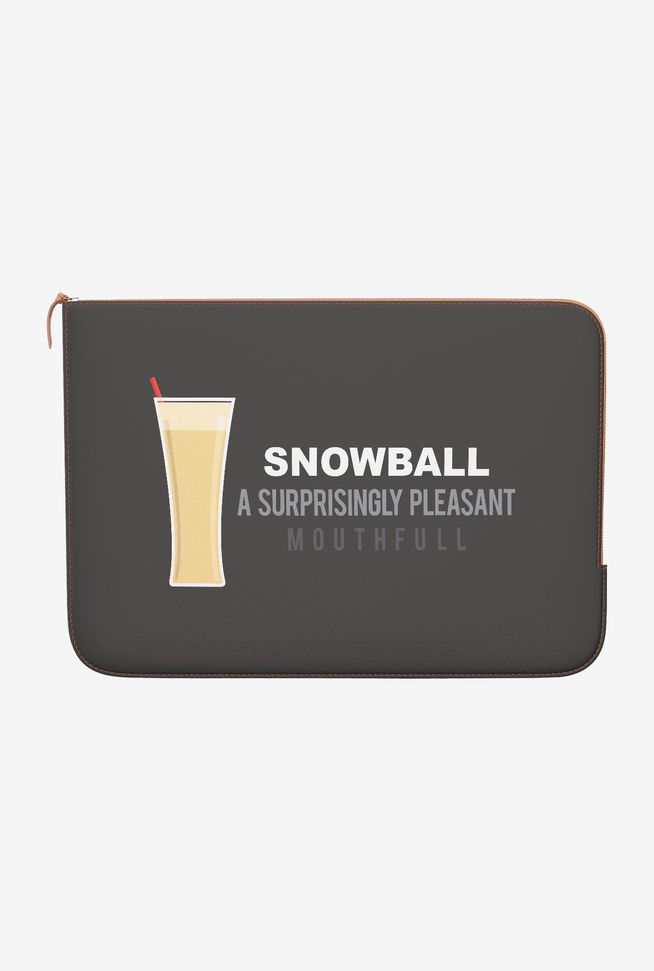 DailyObjects Snowball MacBook Pro 15 Zippered Sleeve