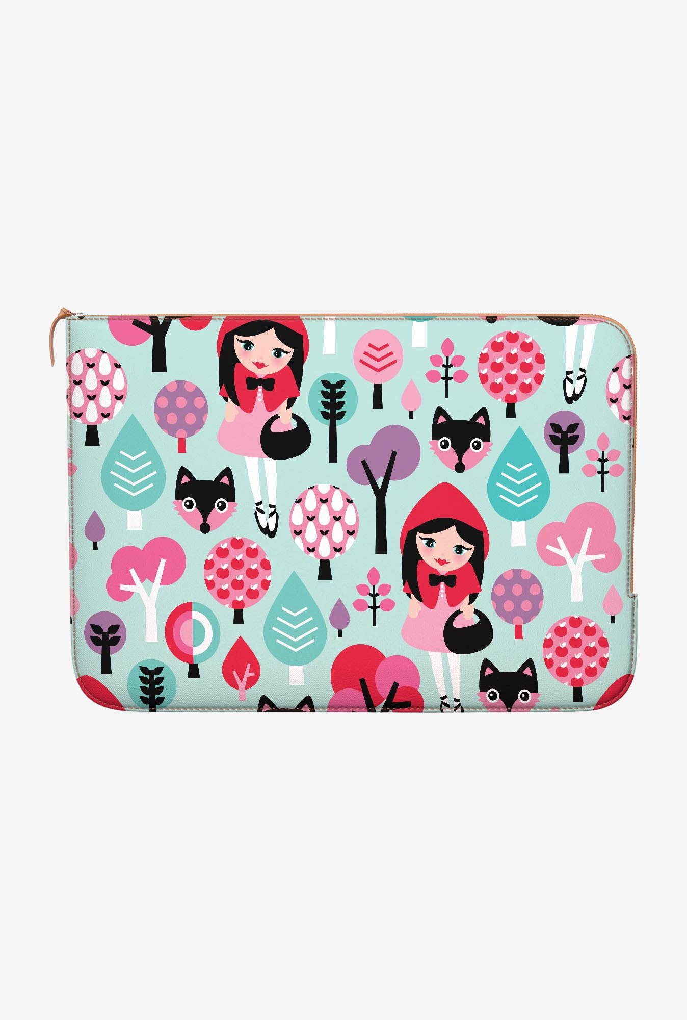 DailyObjects Red Riding Hood MacBook 12 Zippered Sleeve