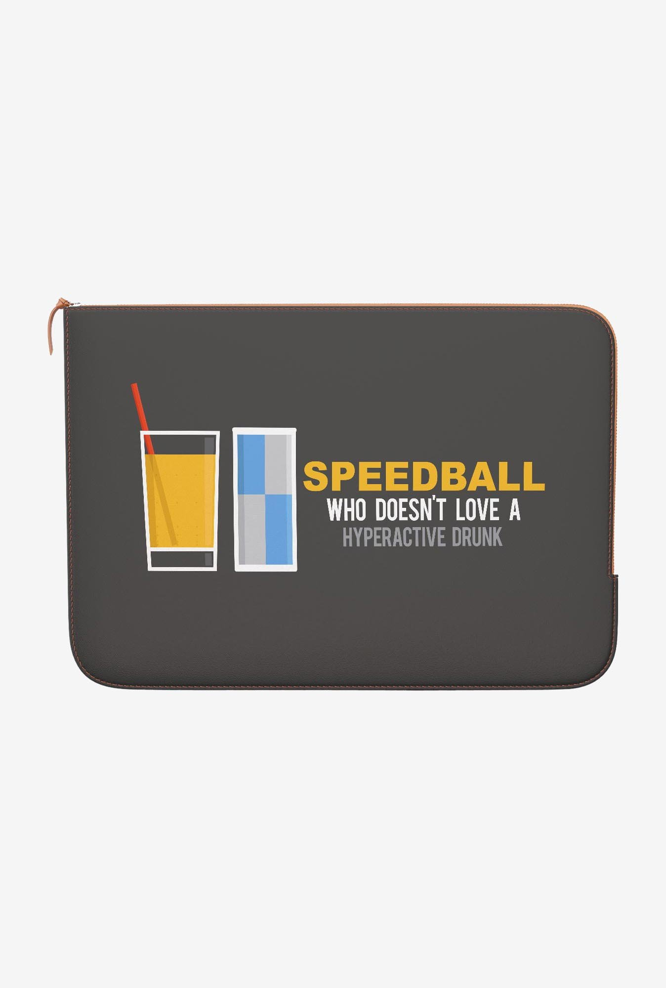 DailyObjects Speedball MacBook Pro 15 Zippered Sleeve