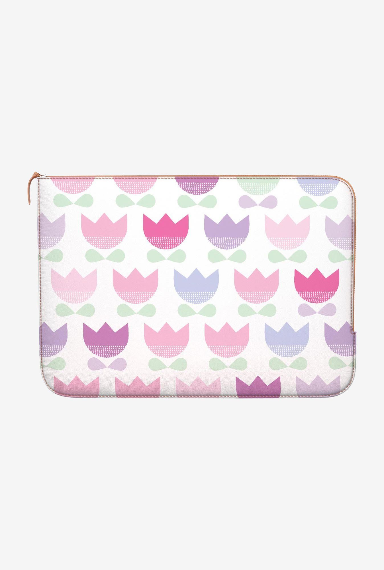 DailyObjects Spring Tulips MacBook Pro 15 Zippered Sleeve
