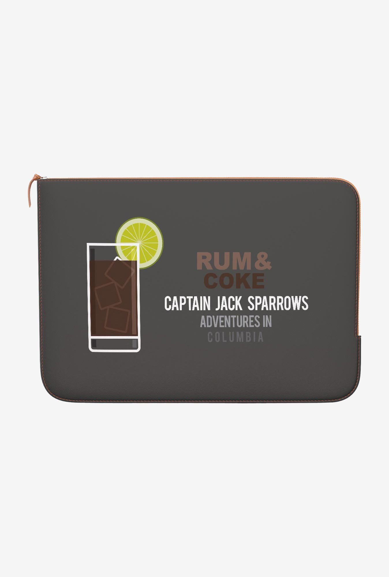 DailyObjects Rum And Coke MacBook Pro 13 Zippered Sleeve