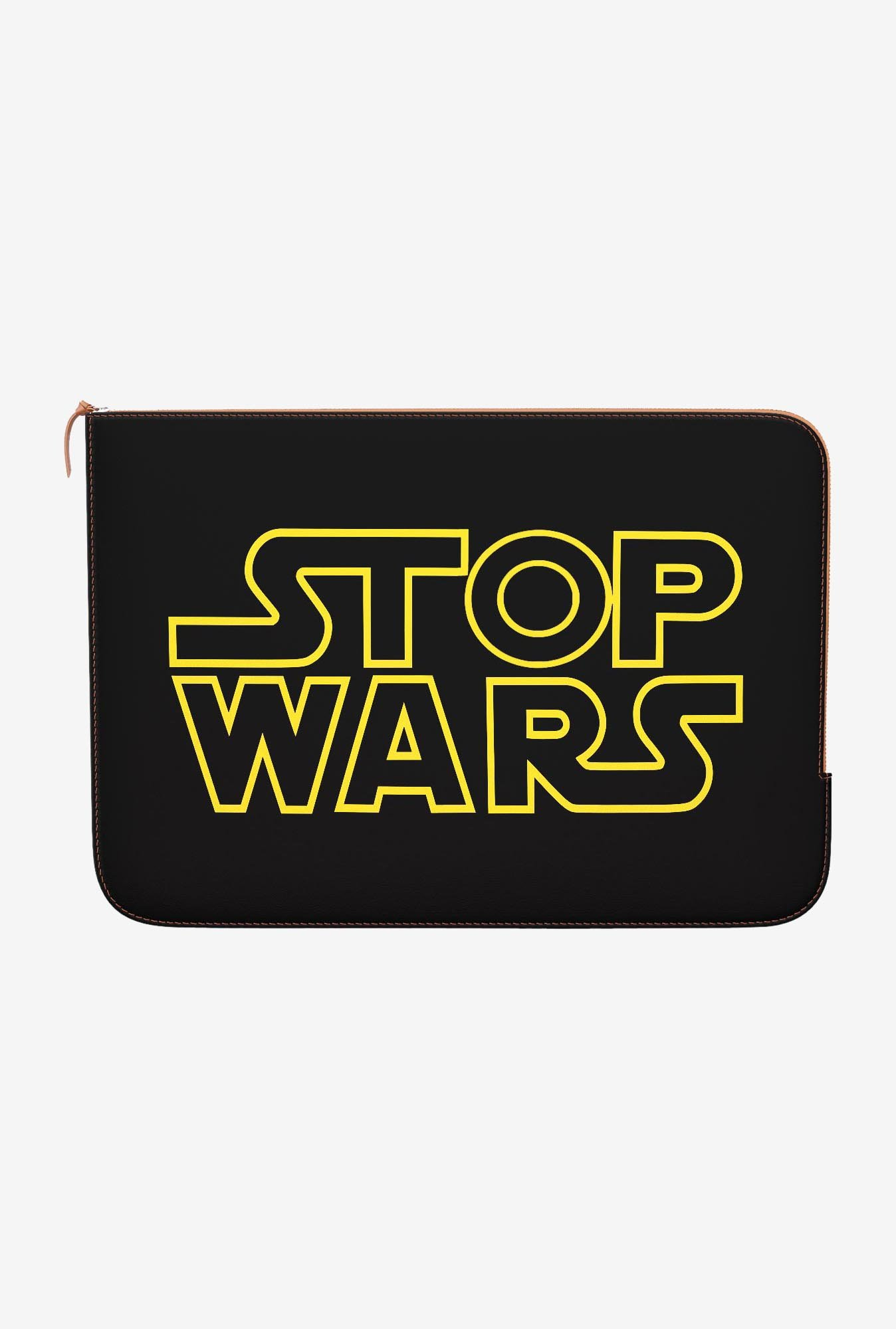 DailyObjects Stop Wars MacBook Pro 15 Zippered Sleeve