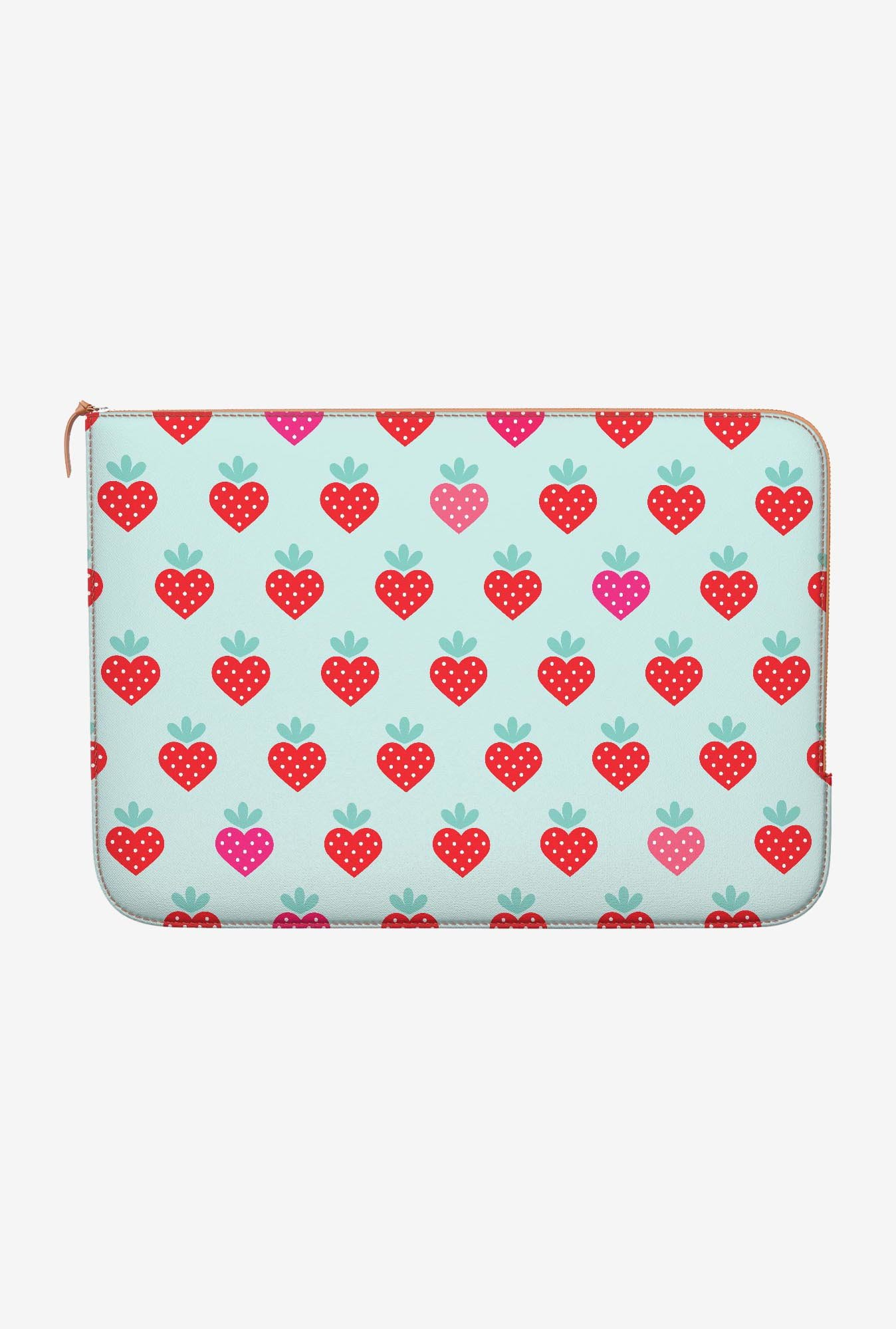 DailyObjects Strawberry MacBook Air 11 Zippered Sleeve