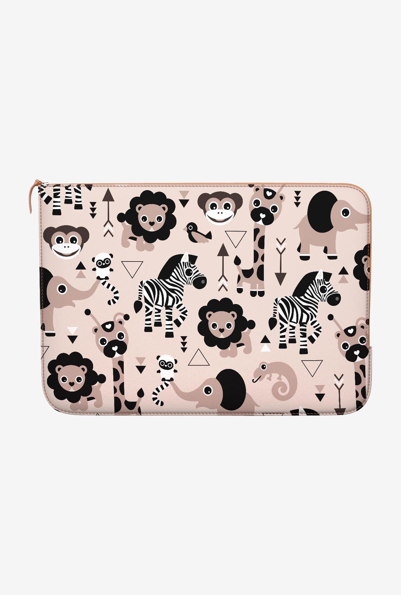 DailyObjects Zoo MacBook Pro 13 Zippered Sleeve