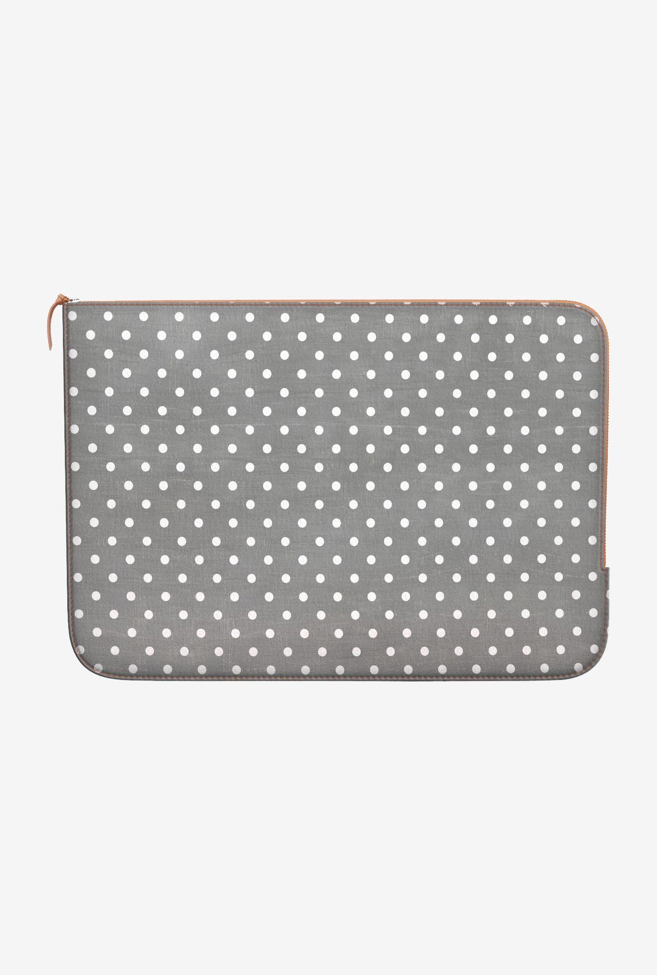 DailyObjects Swiss Dots MacBook Air 11 Zippered Sleeve