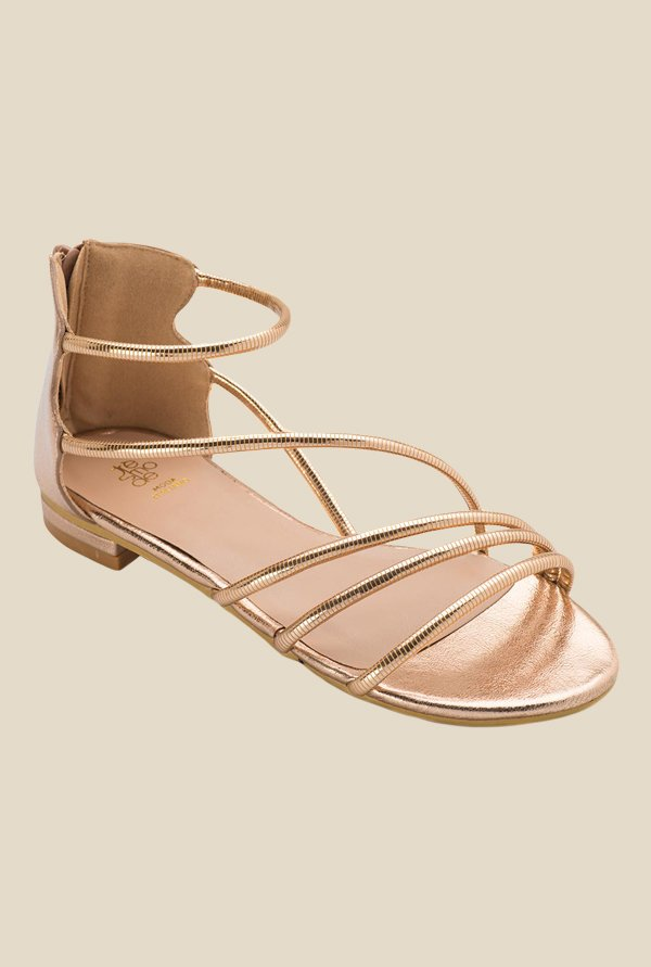 Tresmode Rodeo Tan Casual Sandals