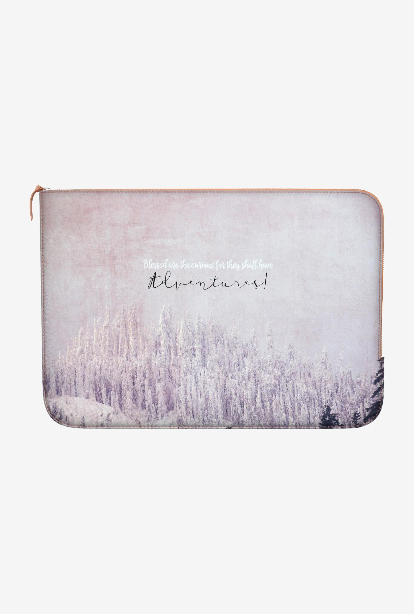DailyObjects Blessed Curious MacBook Pro 15 Zippered Sleeve
