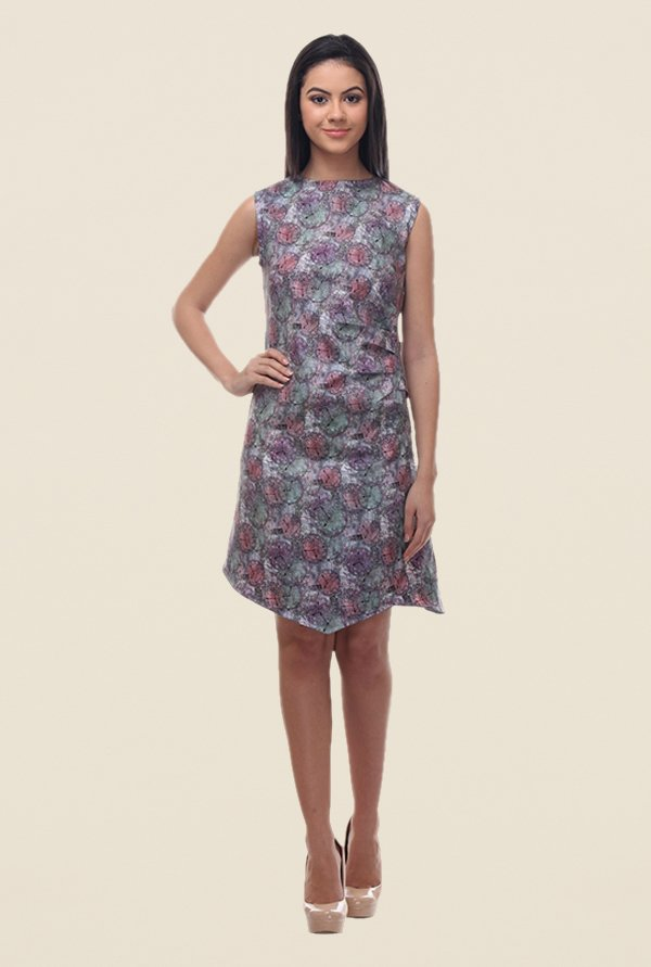 Kaaryah Multicolor Printed Dress