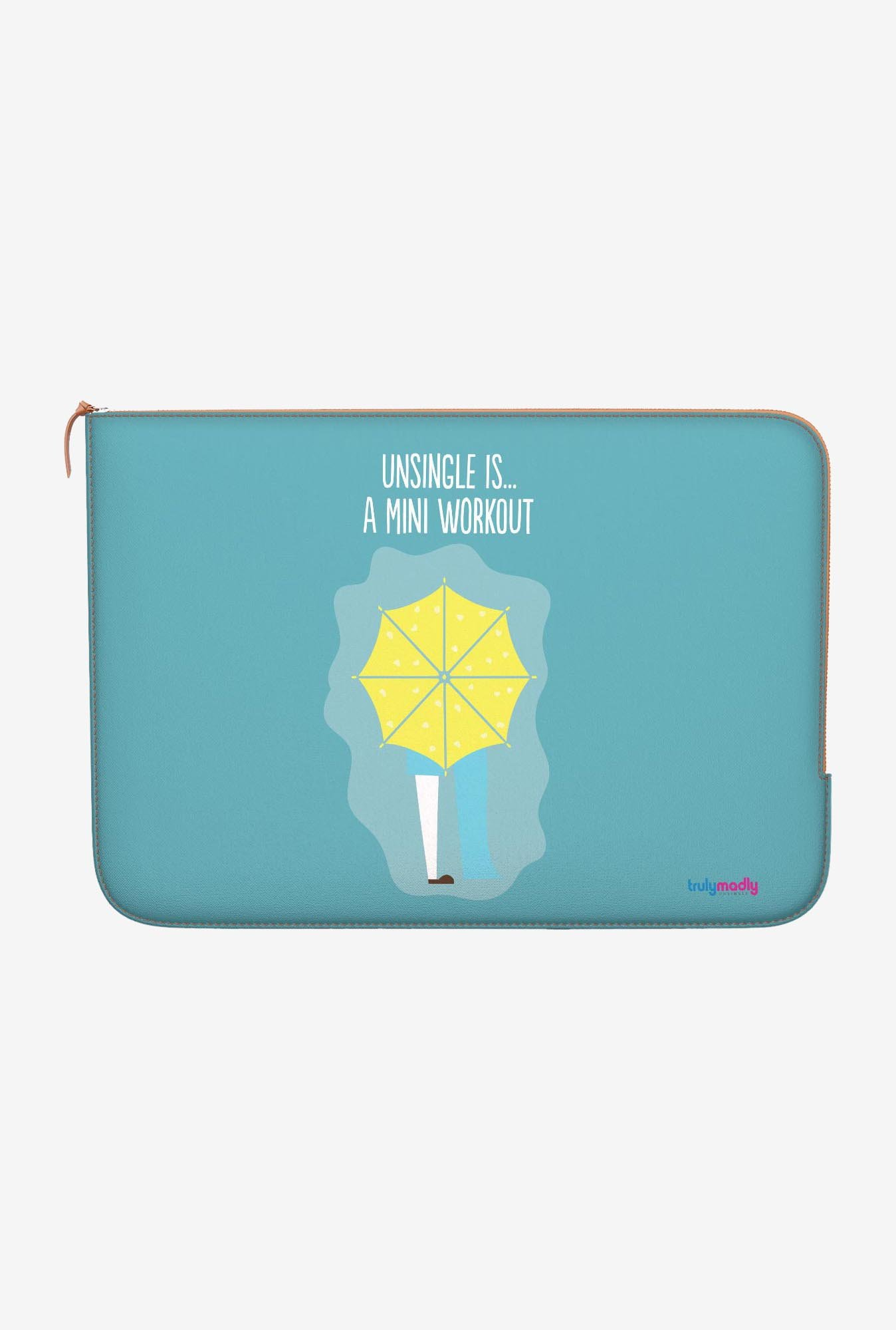 "DailyObjects Mini Workout Macbook Air 11"" Zippered Sleeve"
