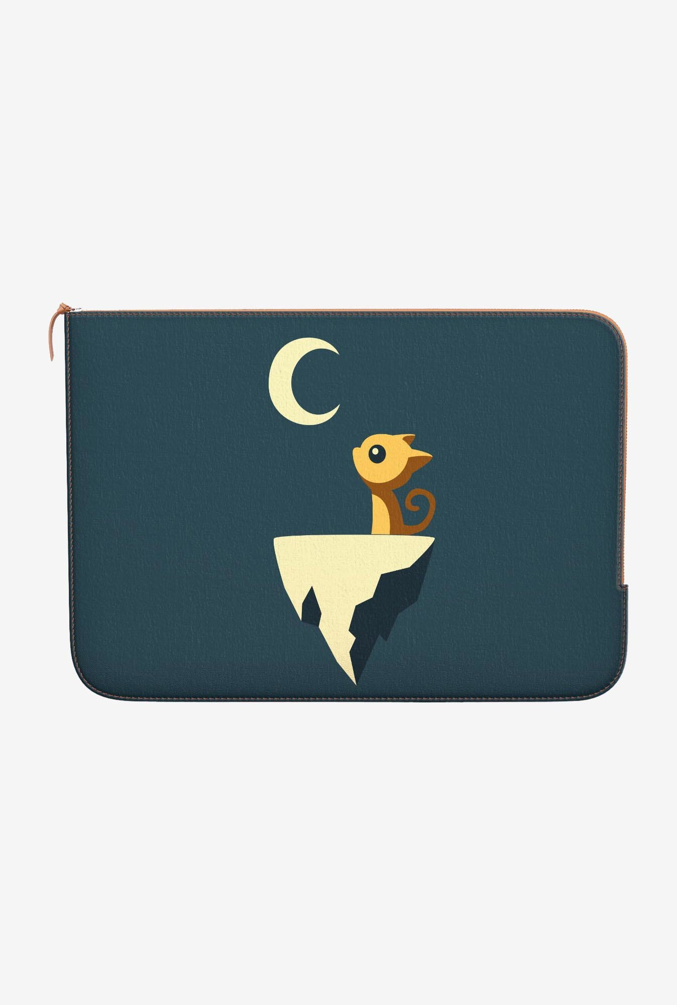 "DailyObjects Moon Cat Macbook Pro 15"" Zippered Sleeve"