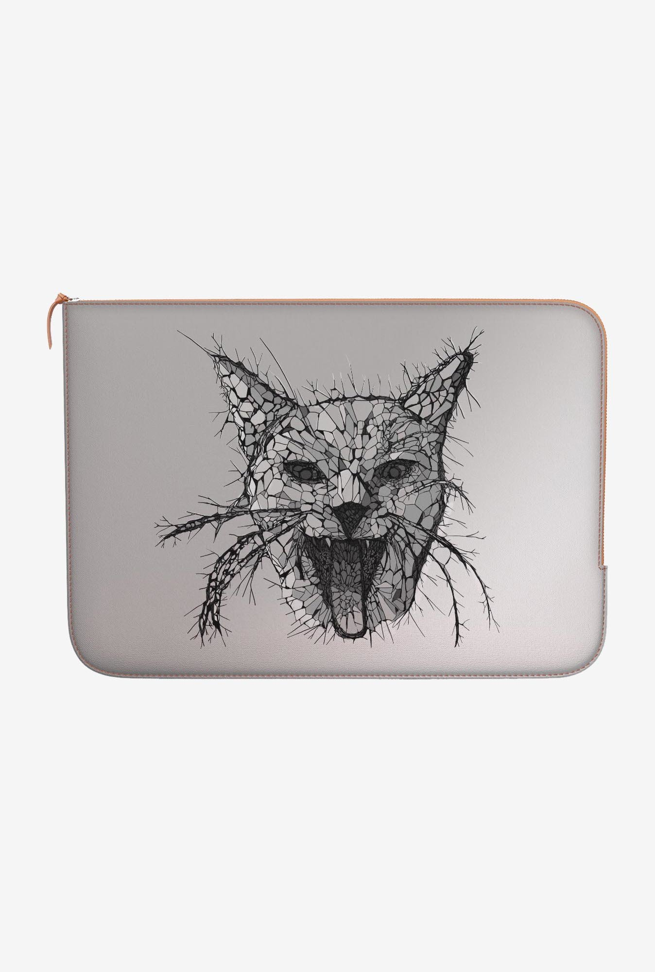 "DailyObjects Mosaic Cat Macbook Pro 13"" Zippered Sleeve"