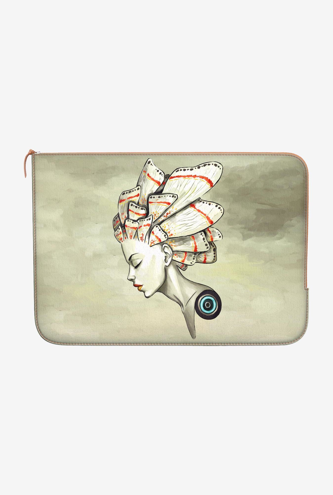 "DailyObjects Moth Birth Macbook Pro 15"" Zippered Sleeve"