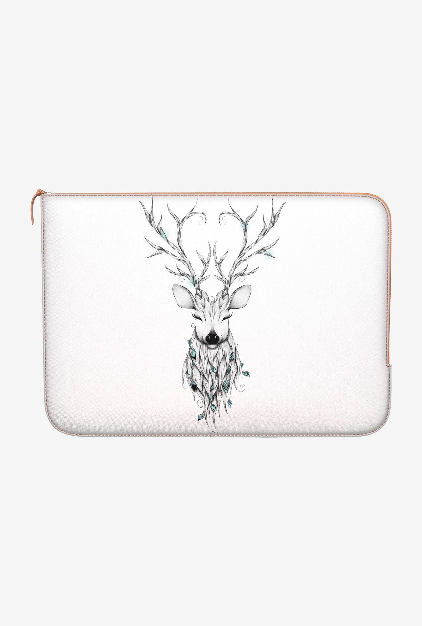 "DailyObjects Poetic Deer Macbook 12"" Zippered Sleeve"