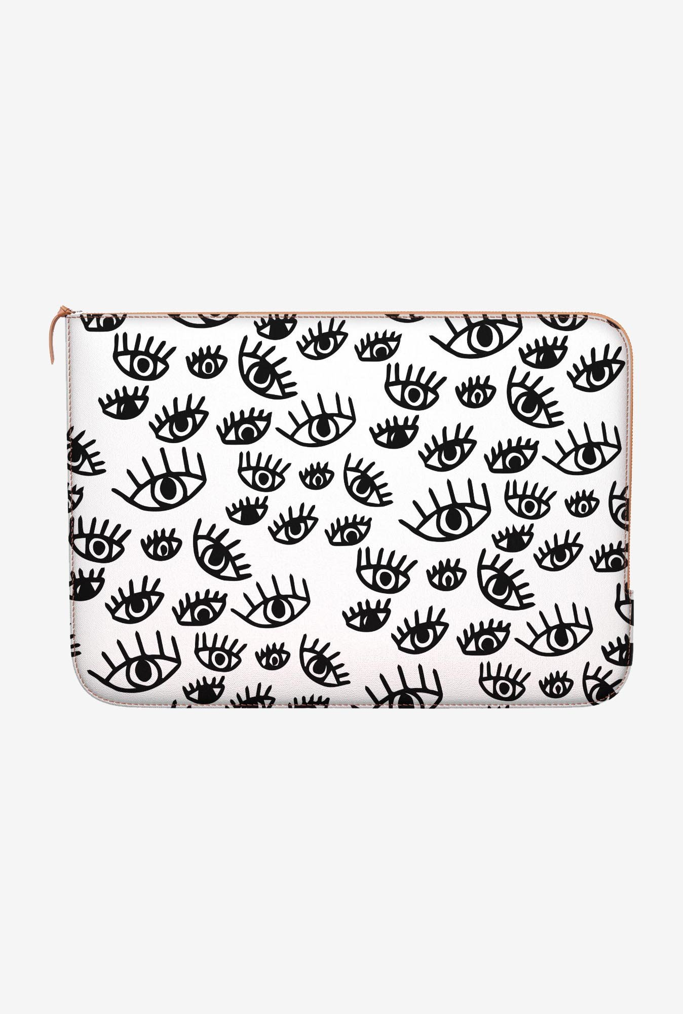 "DailyObjects Protective Eyes Macbook 12"" Zippered Sleeve"