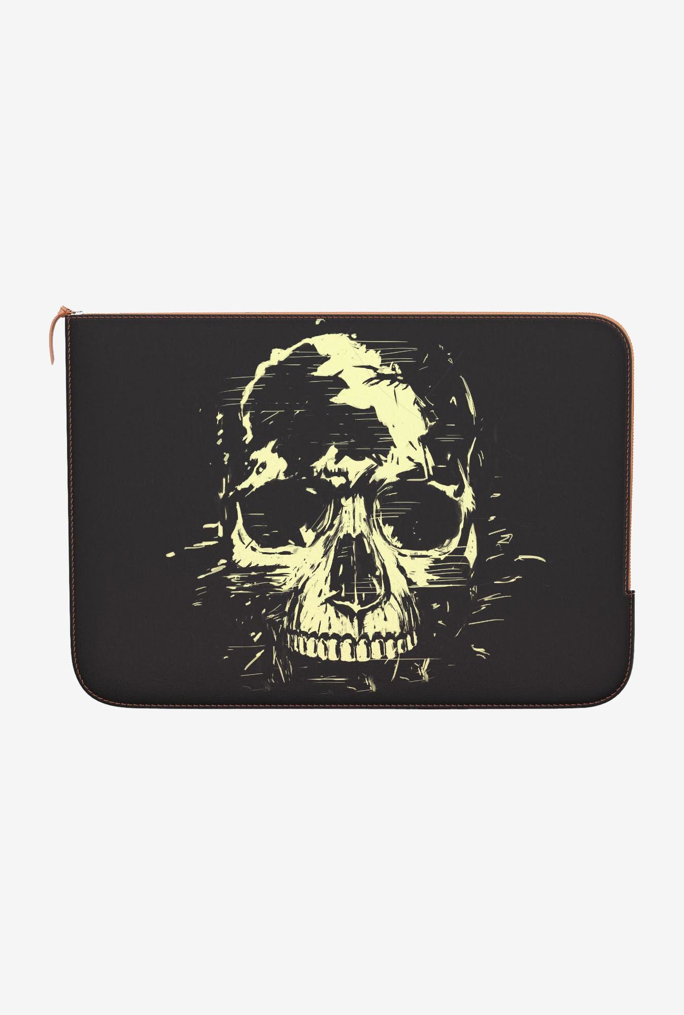 "DailyObjects Scream Golden Macbook Air 11"" Zippered Sleeve"