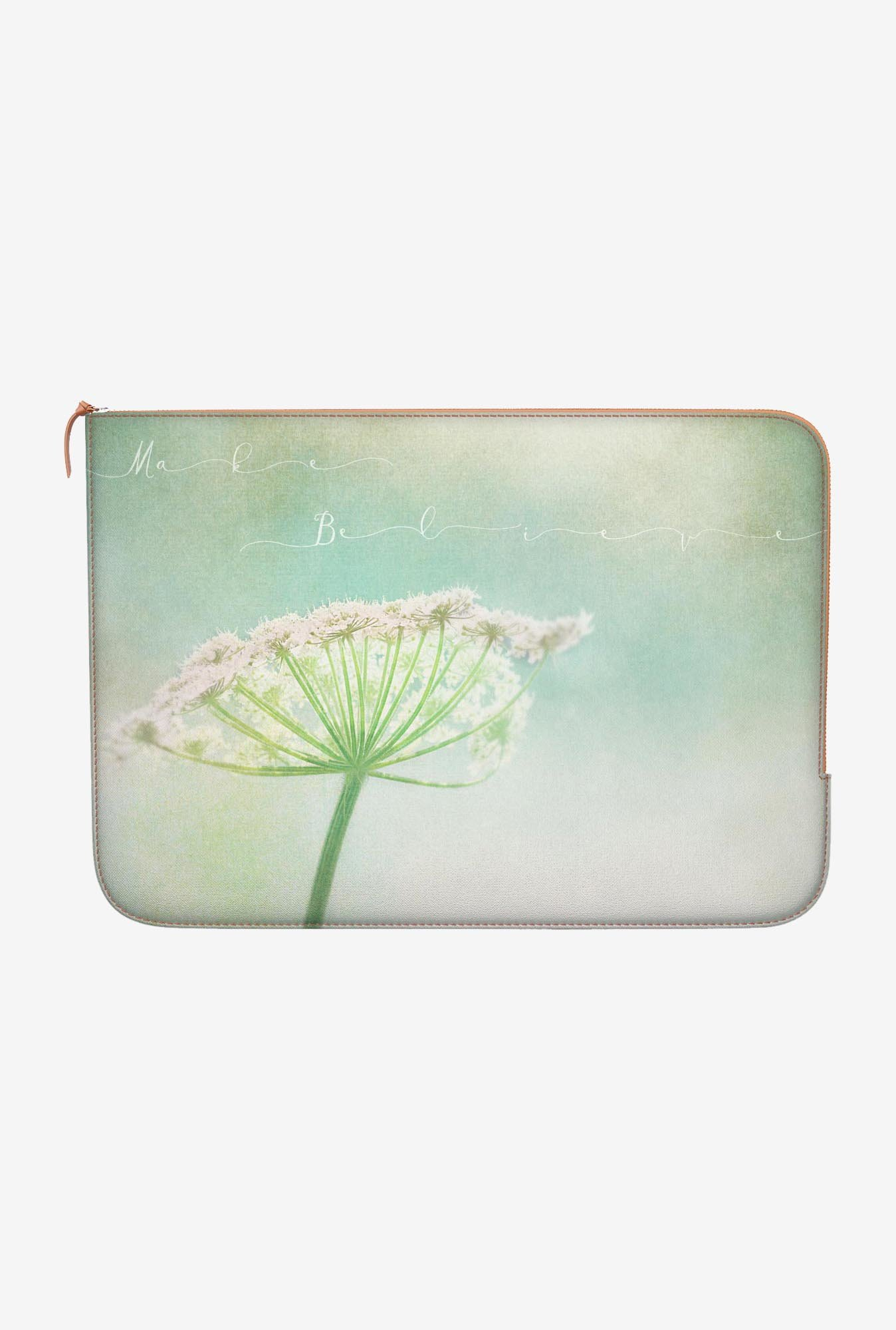 "DailyObjects Make Believe Macbook Pro 15"" Zippered Sleeve"