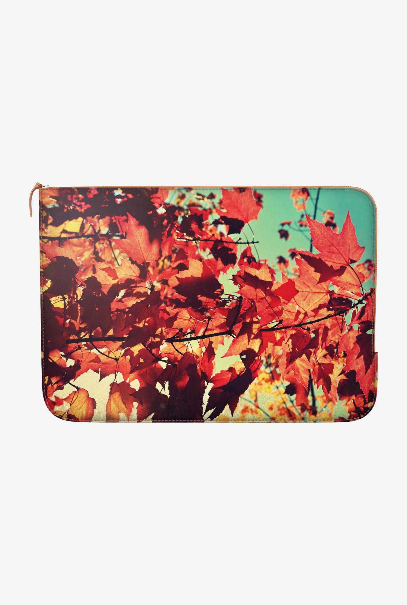 "DailyObjects Maple Autumn Macbook 12"" Zippered Sleeve"