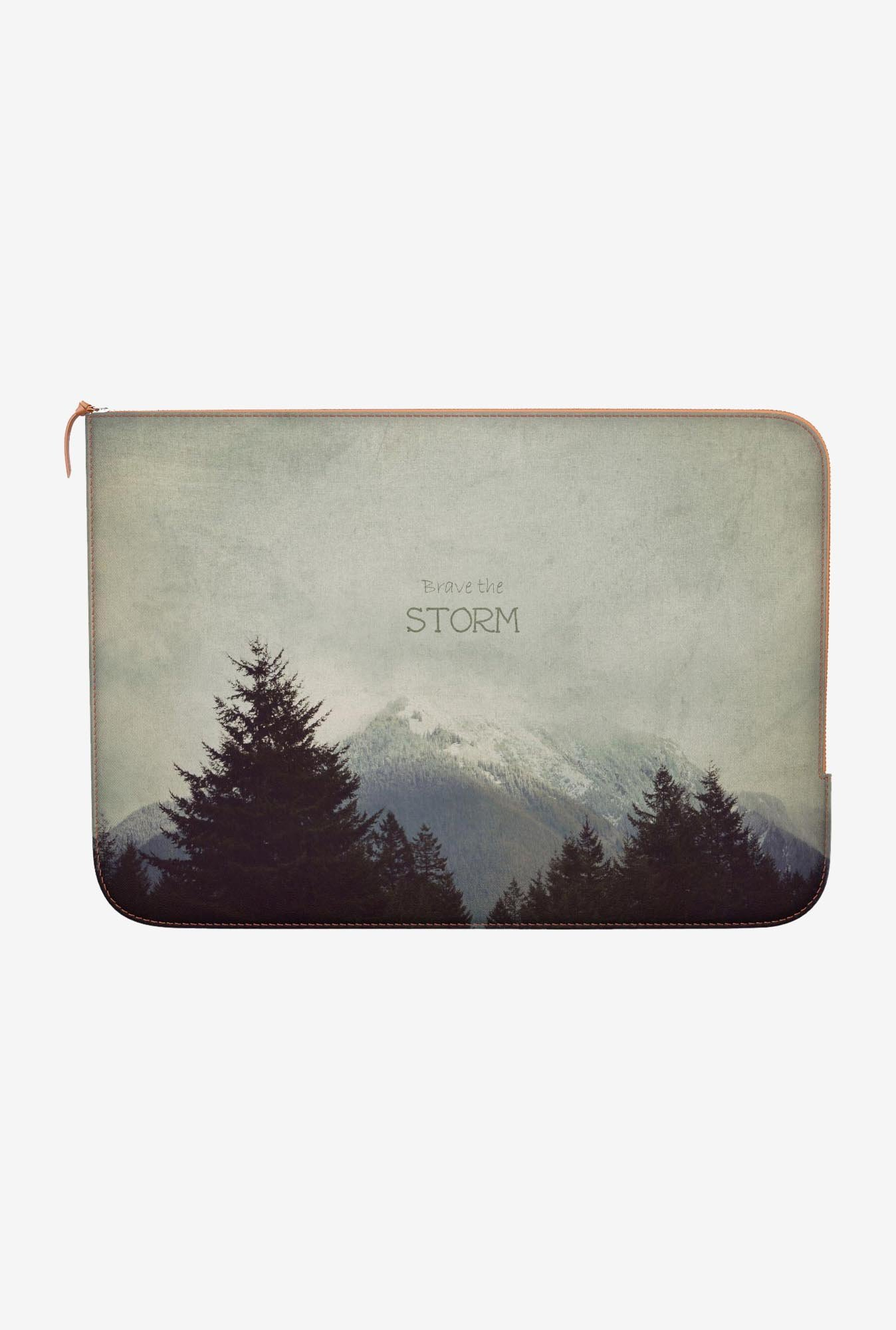 "DailyObjects Storm Landscape Macbook Pro 13"" Zippered Sleeve"