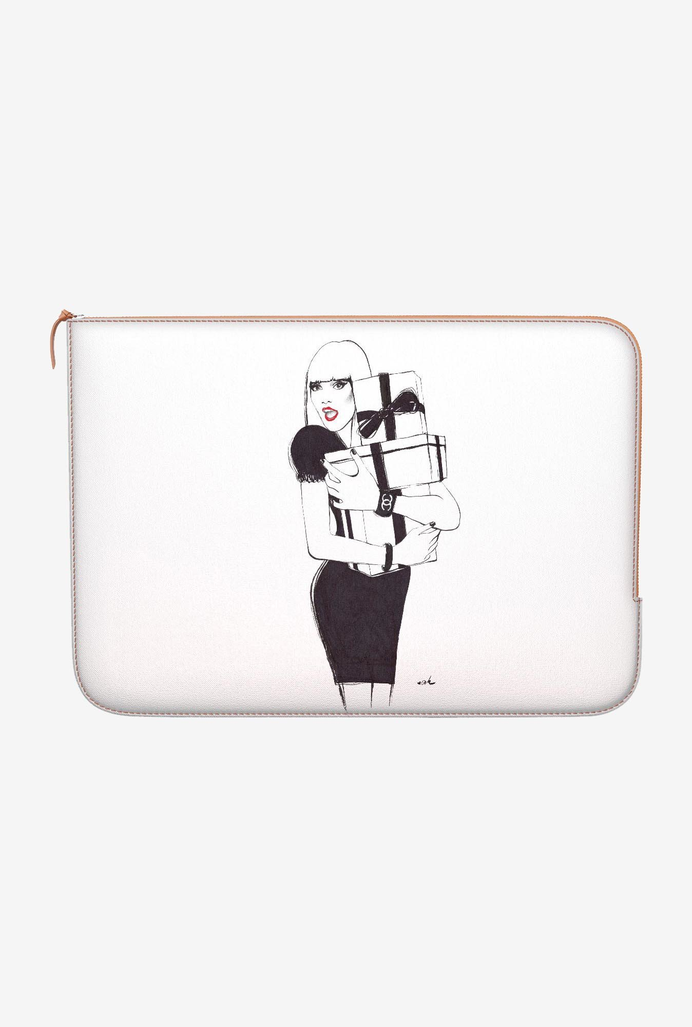 "DailyObjects Spoiled Macbook Air 13"" Zippered Sleeve"