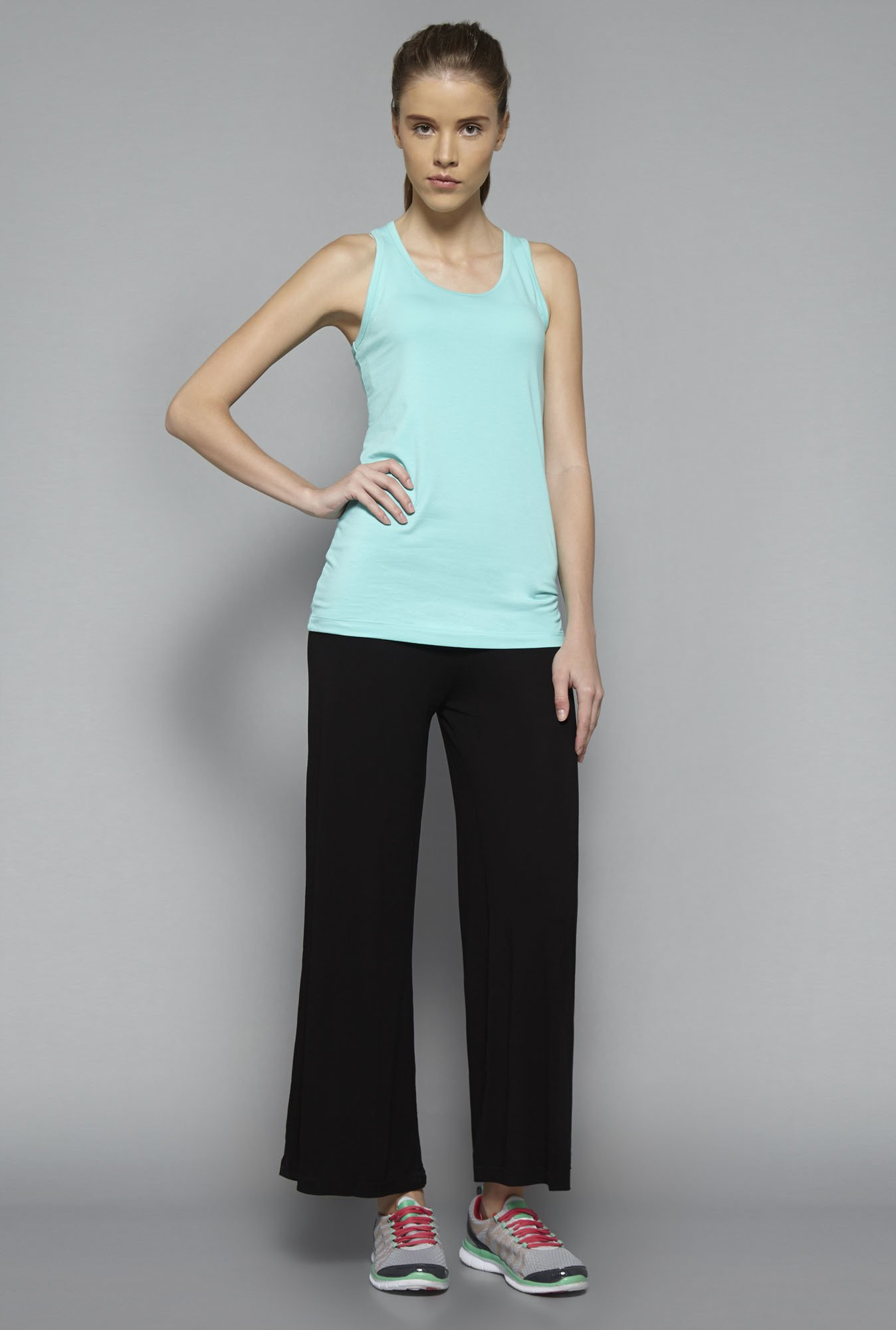 Westsport by Westside Turquoise Kate Tank Top