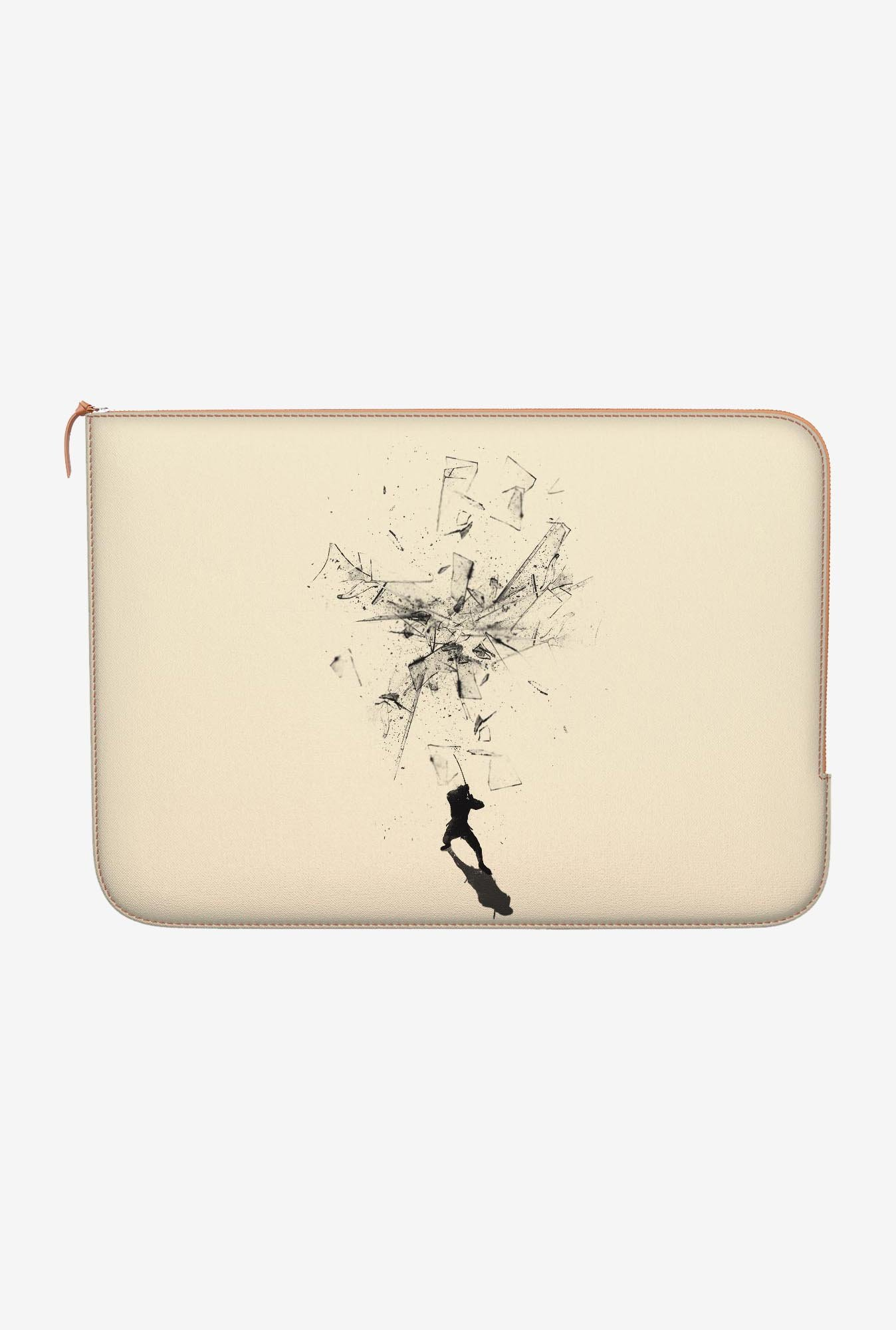 "DailyObjects Ninja Moves Macbook Air 13"" Zippered Sleeve"