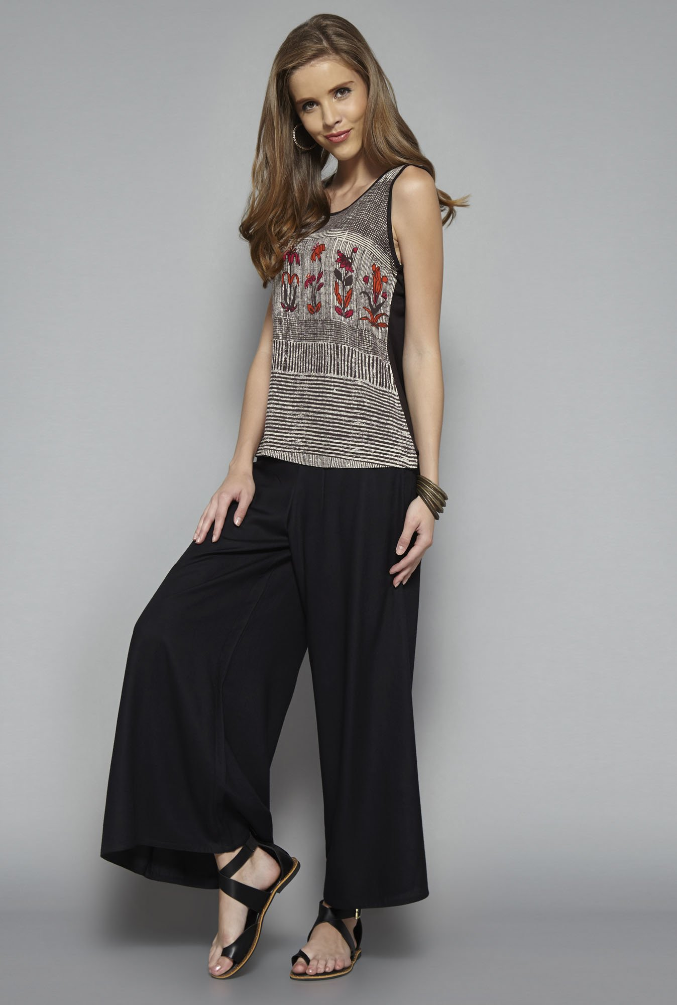 Bombay Paisley by Westside Brown Printed Top