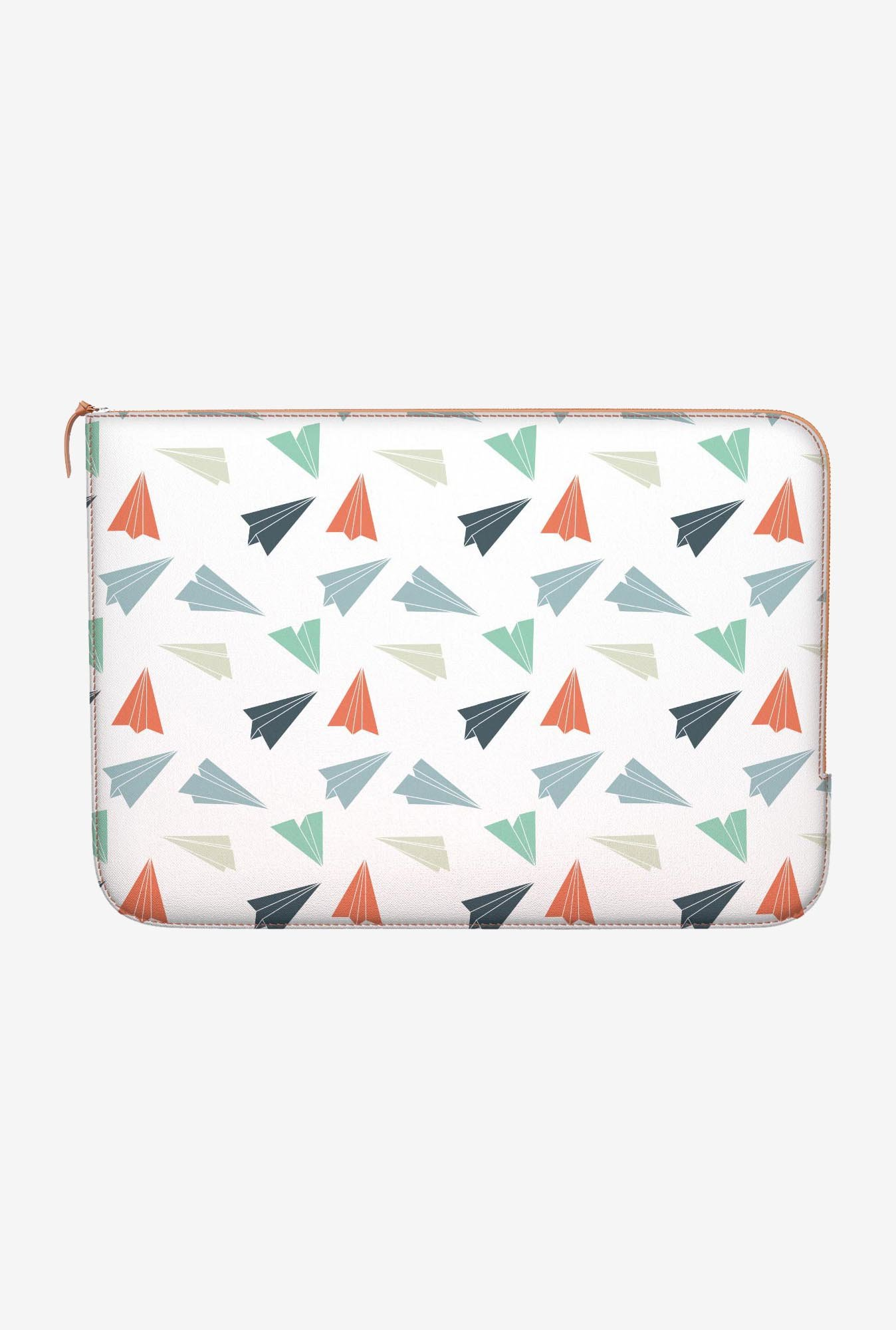 "DailyObjects Paper Planes Macbook 12"" Zippered Sleeve"