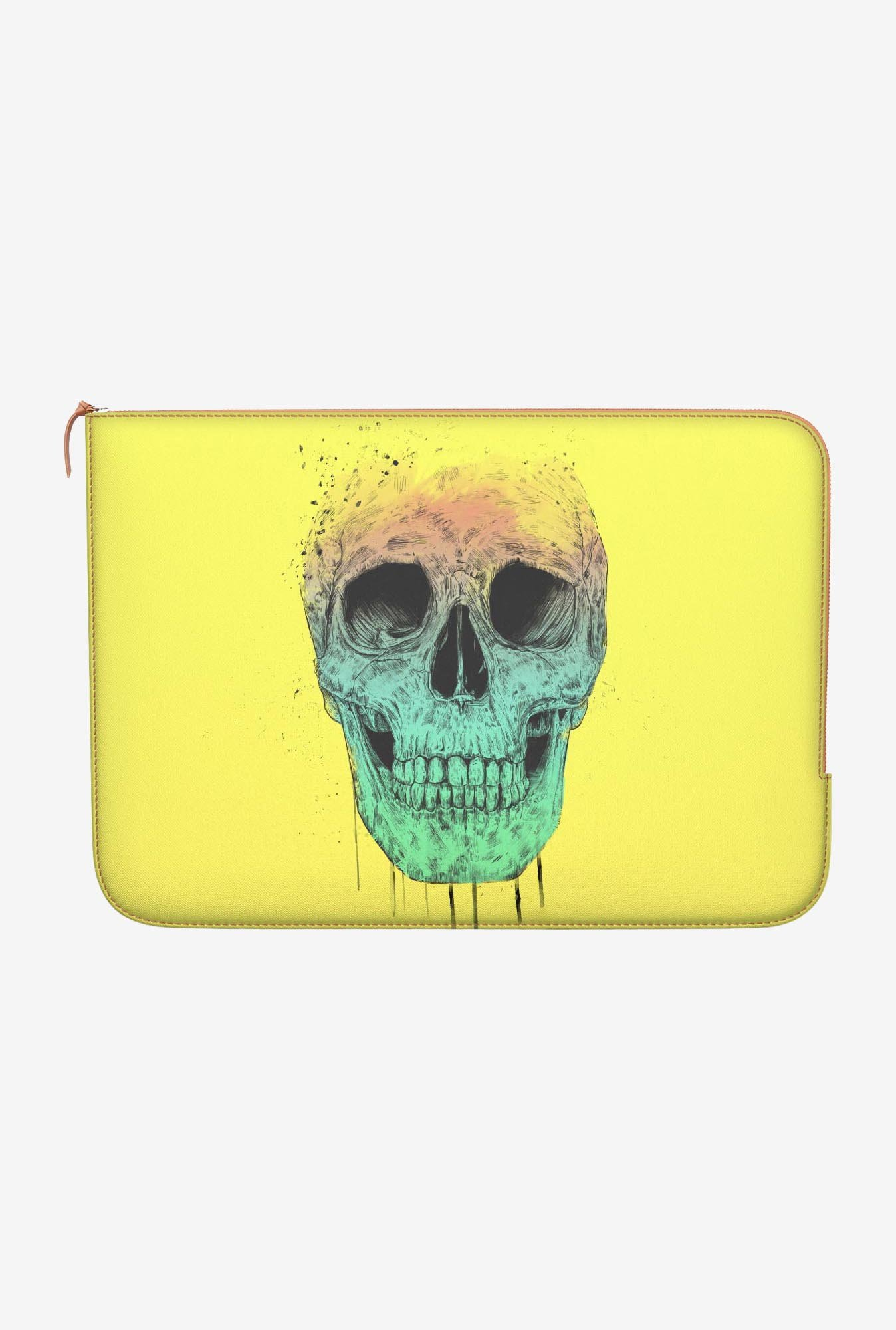 "DailyObjects Pop Art Skull Macbook Air 13"" Zippered Sleeve"