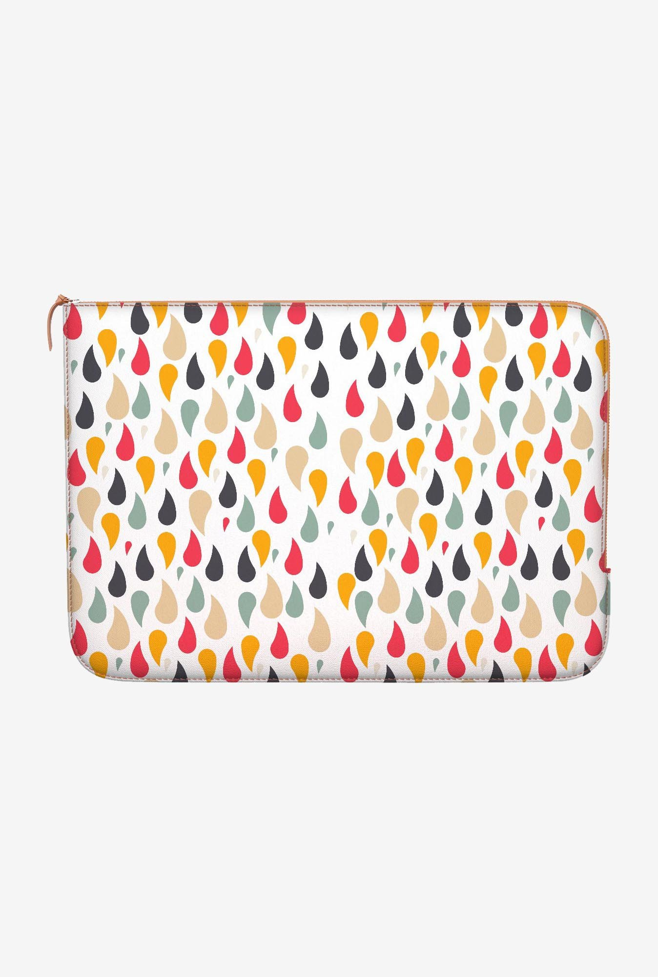 "DailyObjects Rain In Color Macbook Pro 13"" Zippered Sleeve"