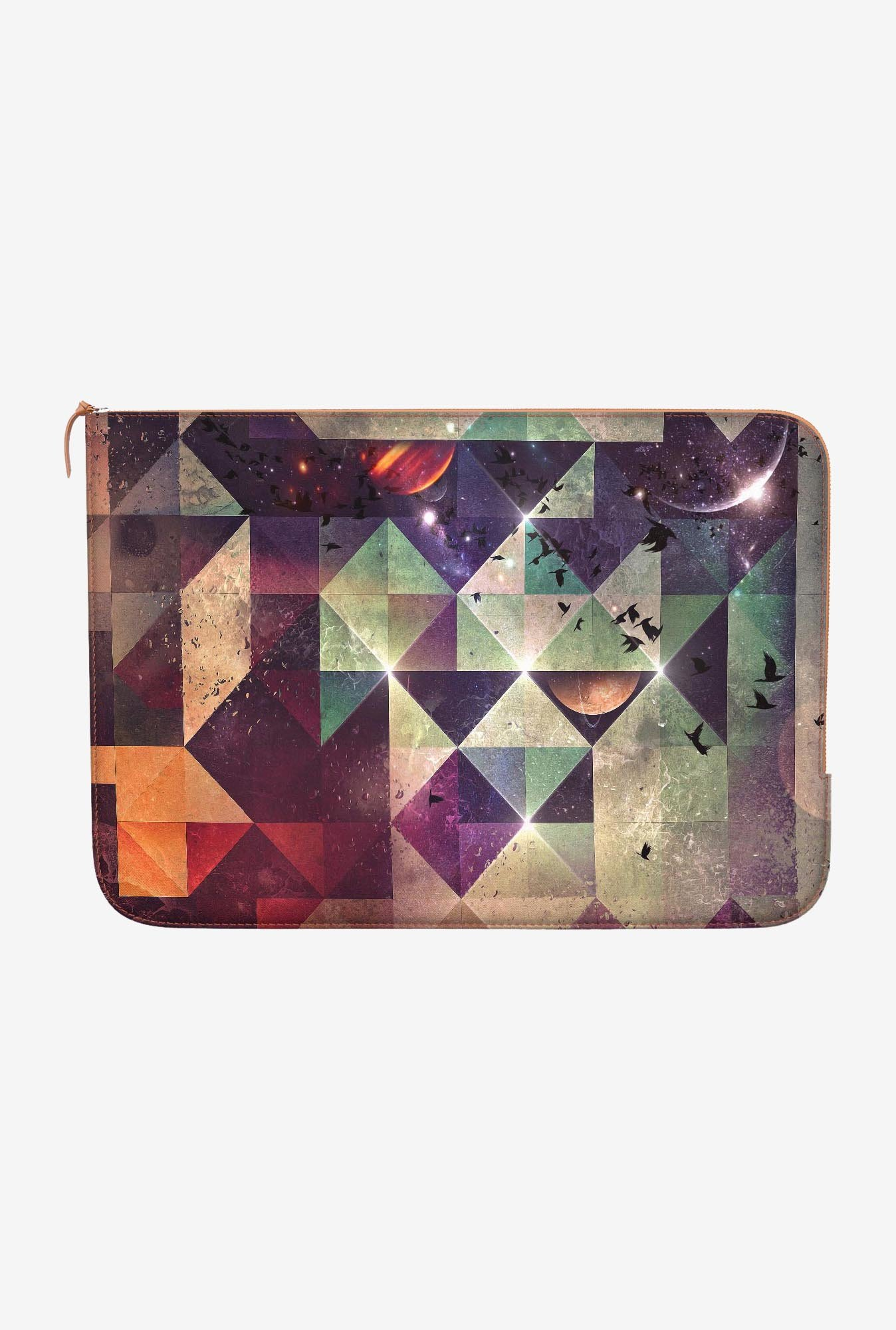 "DailyObjects Rhyyt Lyyyt Macbook Air 13"" Zippered Sleeve"