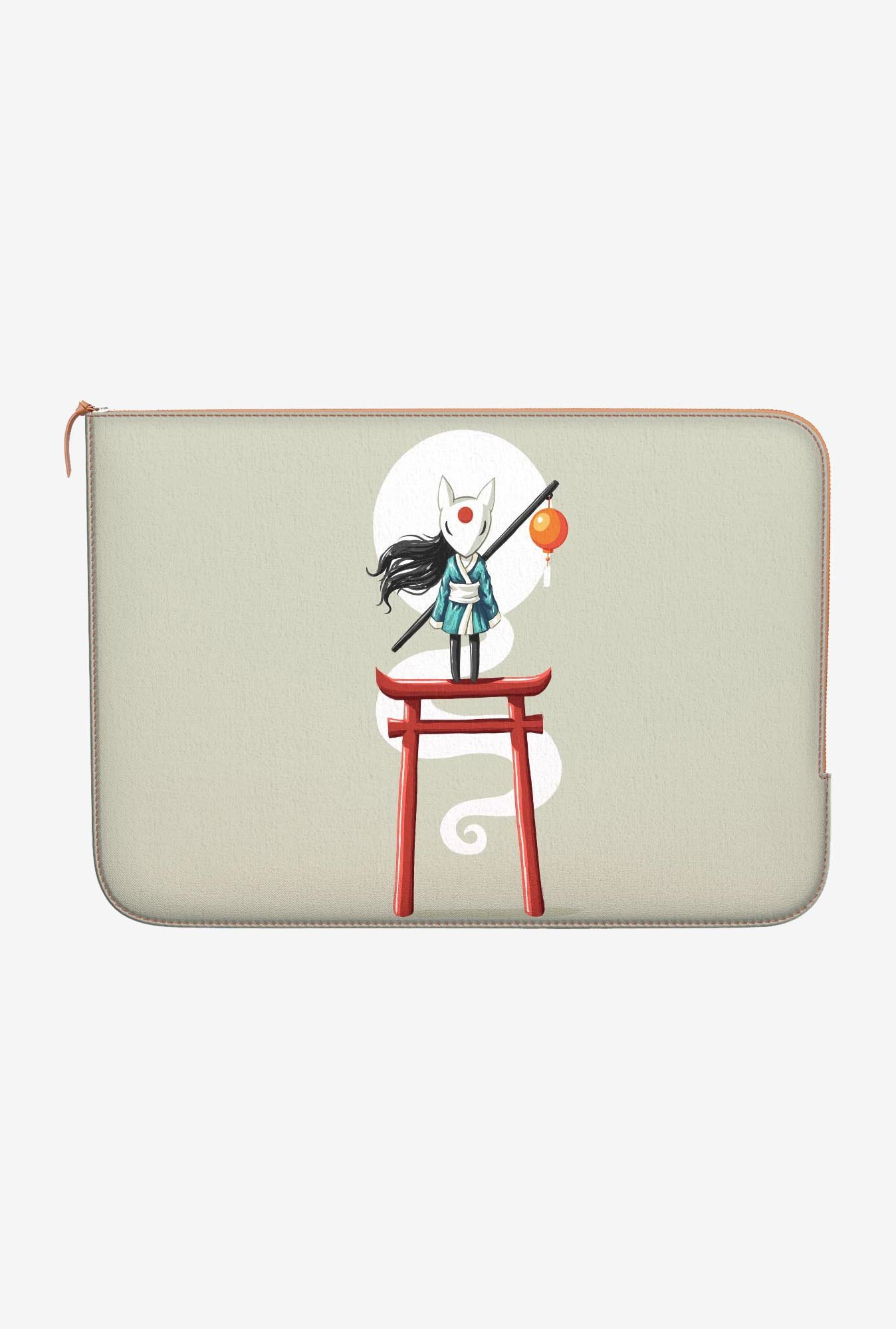 "DailyObjects Shaolin Torii Macbook Pro 13"" Zippered Sleeve"