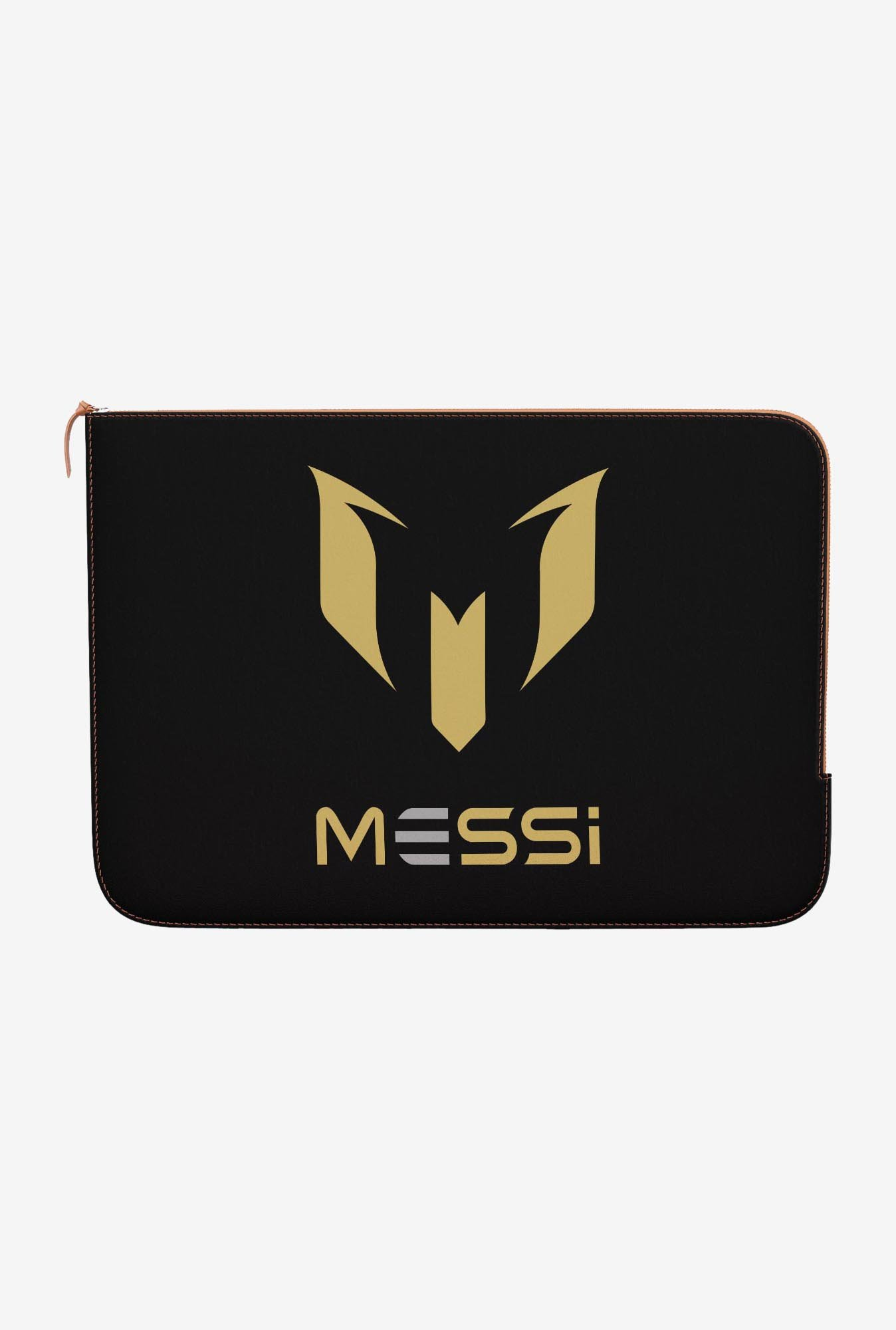 "DailyObjects Messi Black Macbook Air 11"" Zippered Sleeve"