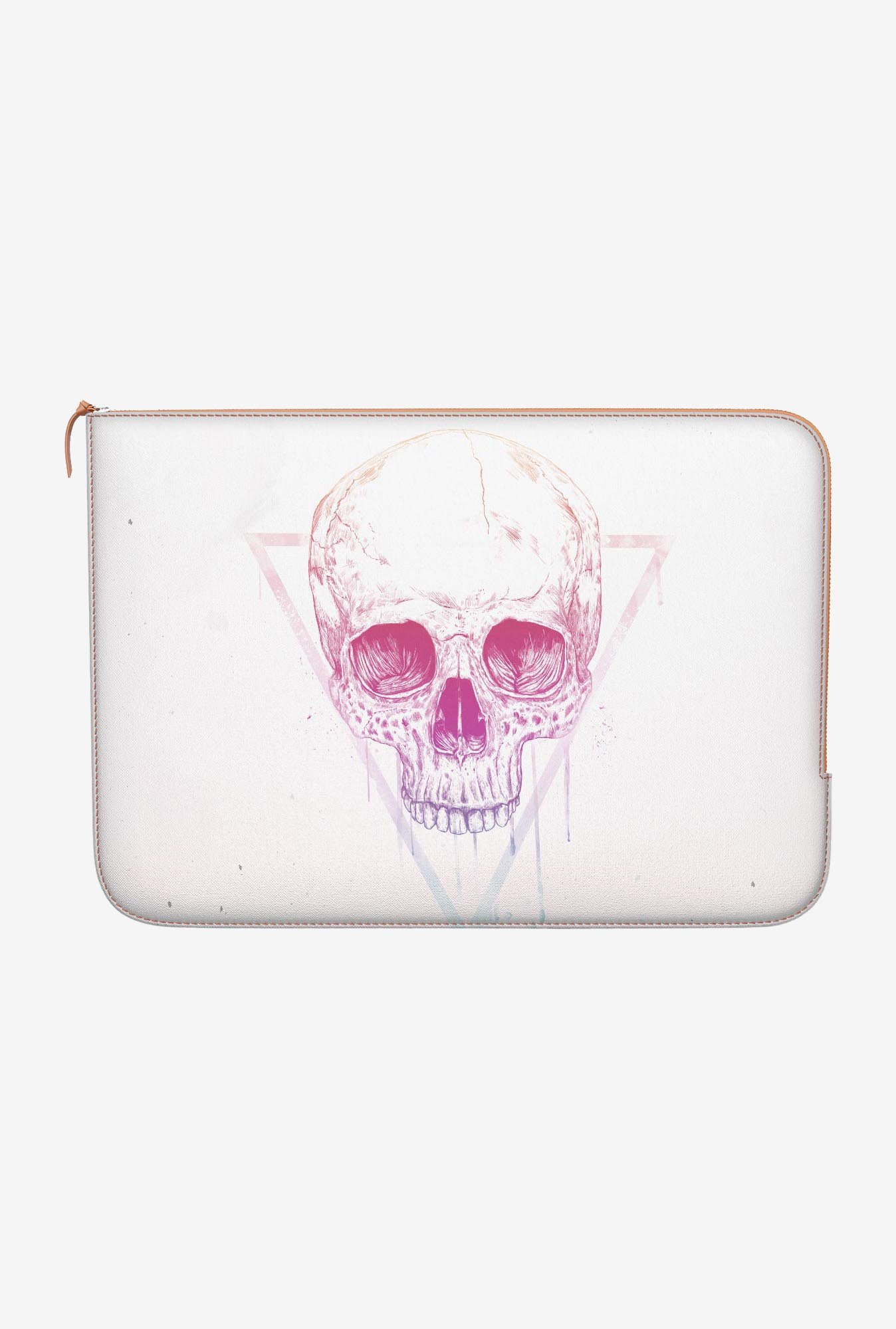 "DailyObjects Skull Triangle Macbook Air 11"" Zippered Sleeve"