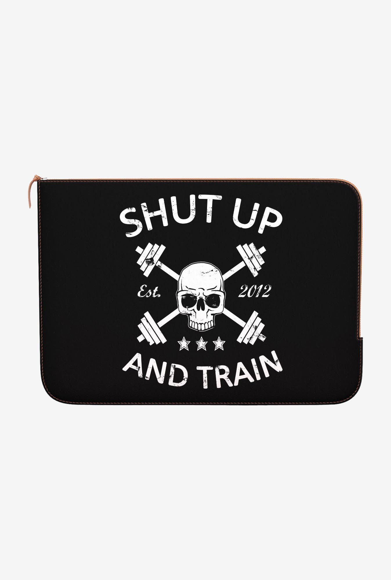 "DailyObjects Shut Up Macbook Air 11"" Zippered Sleeve"