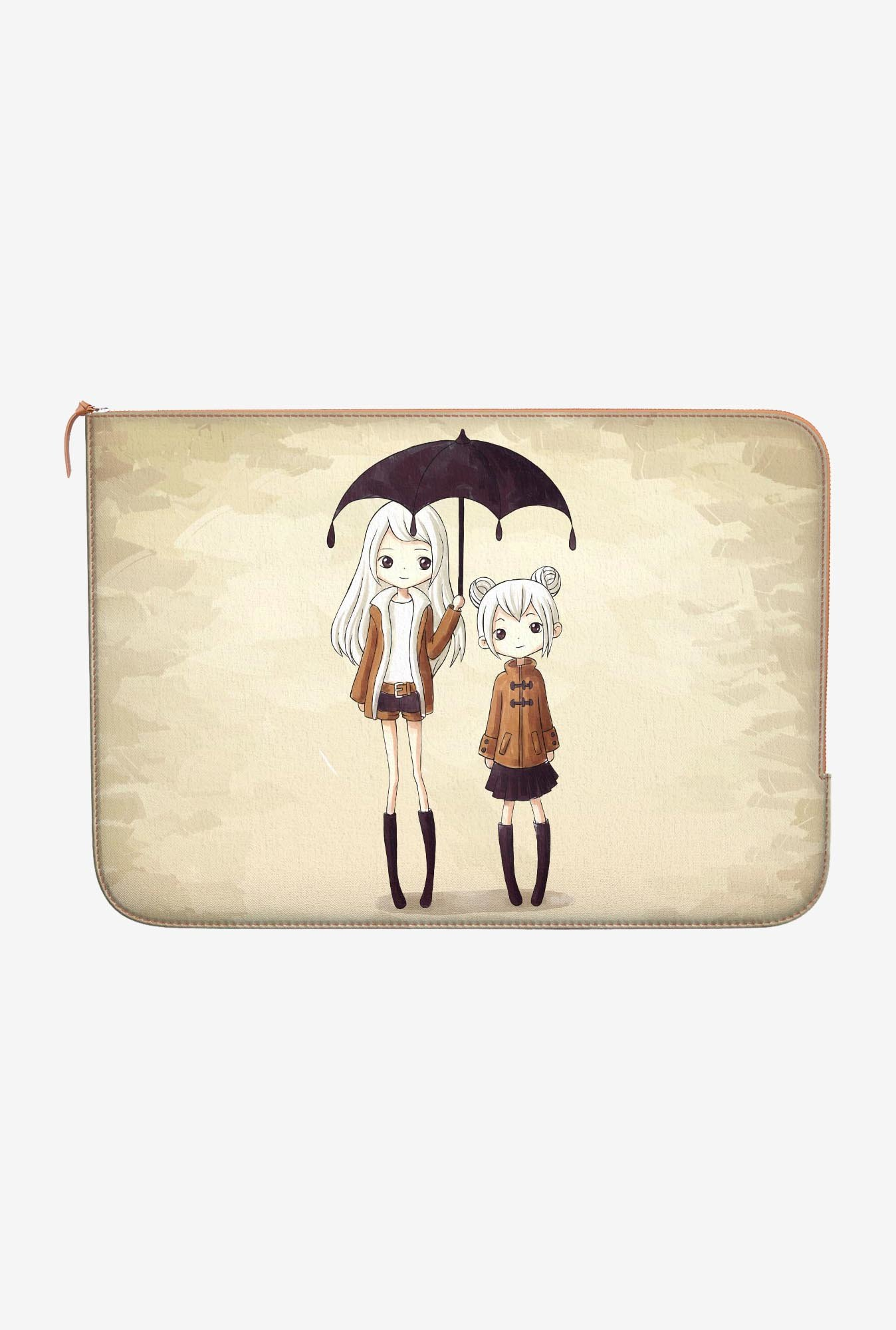 DailyObjects Sunshine Sisters Macbook Pro 15 Zippered Sleeve