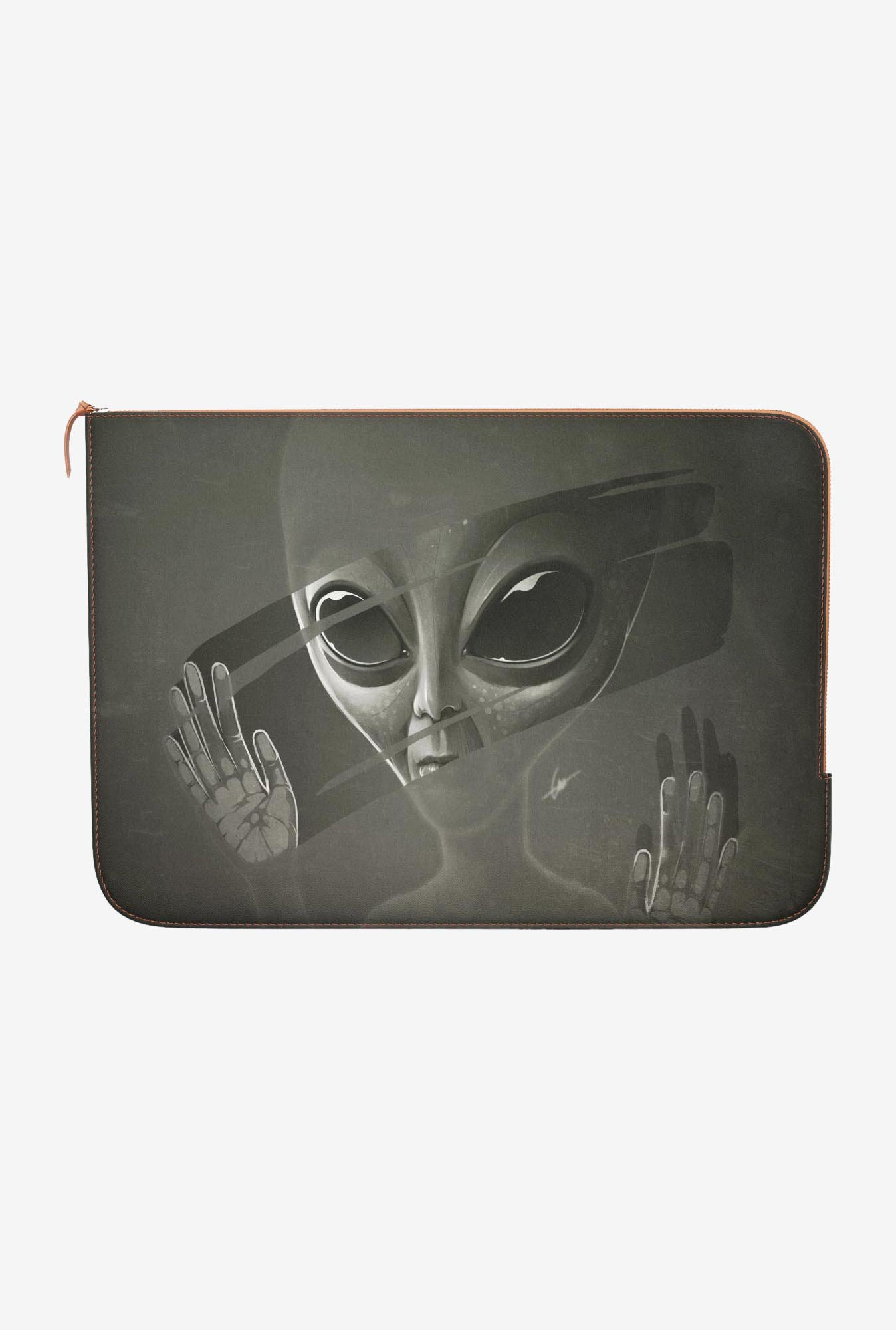 "DailyObjects Alien Macbook Air 11"" Zippered Sleeve"