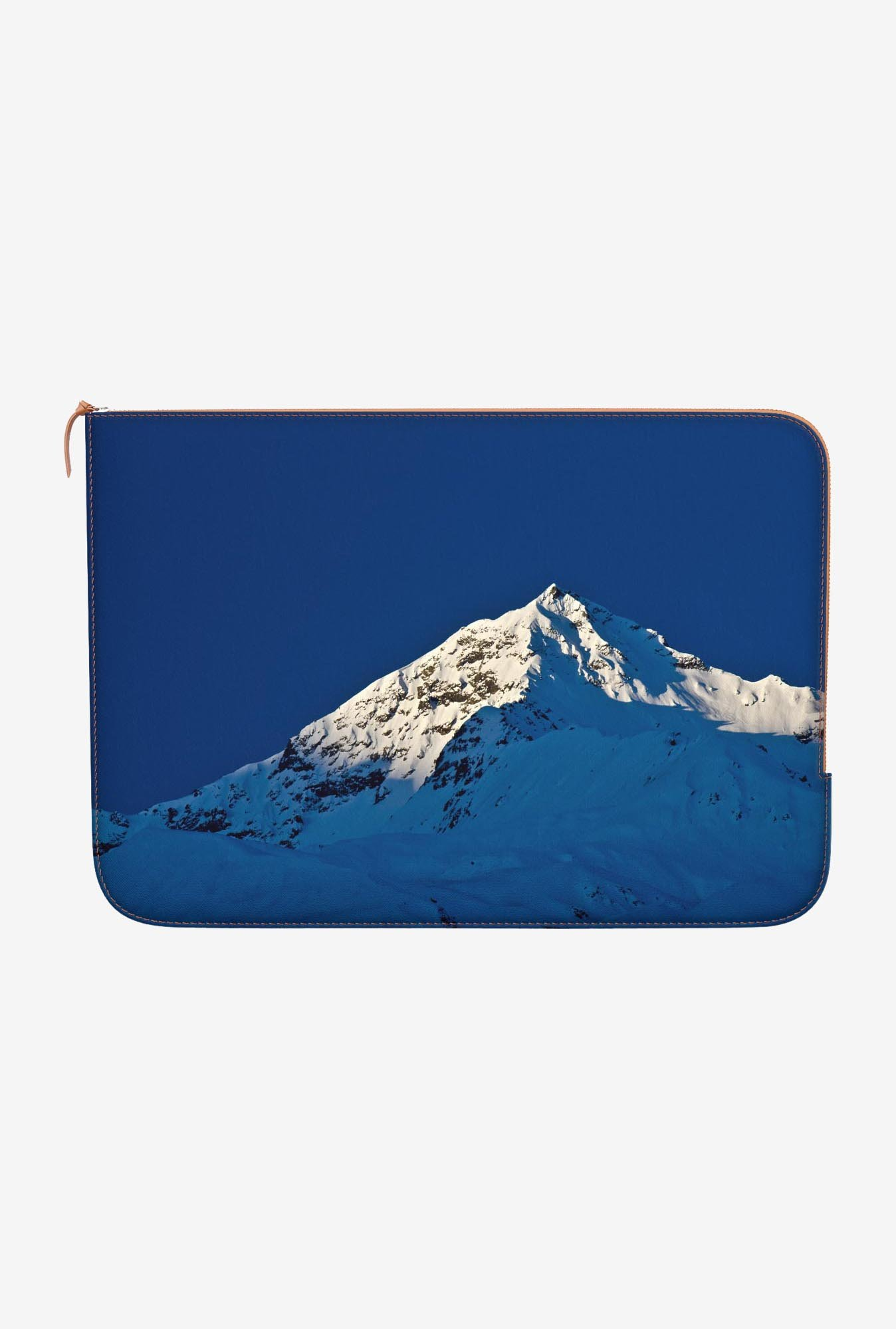 "DailyObjects Shades Of Blue Macbook Air 11"" Zippered Sleeve"