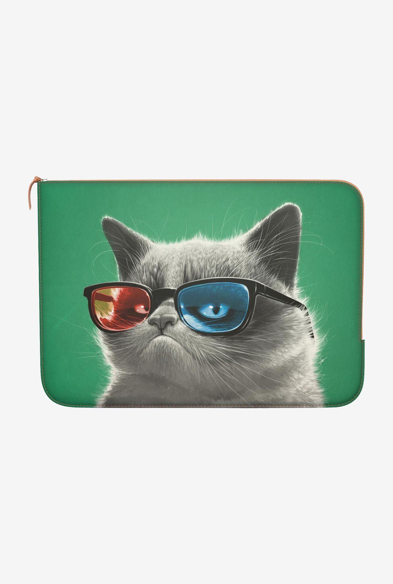 "DailyObjects 3D Grumpy Macbook Air 11"" Zippered Sleeve"